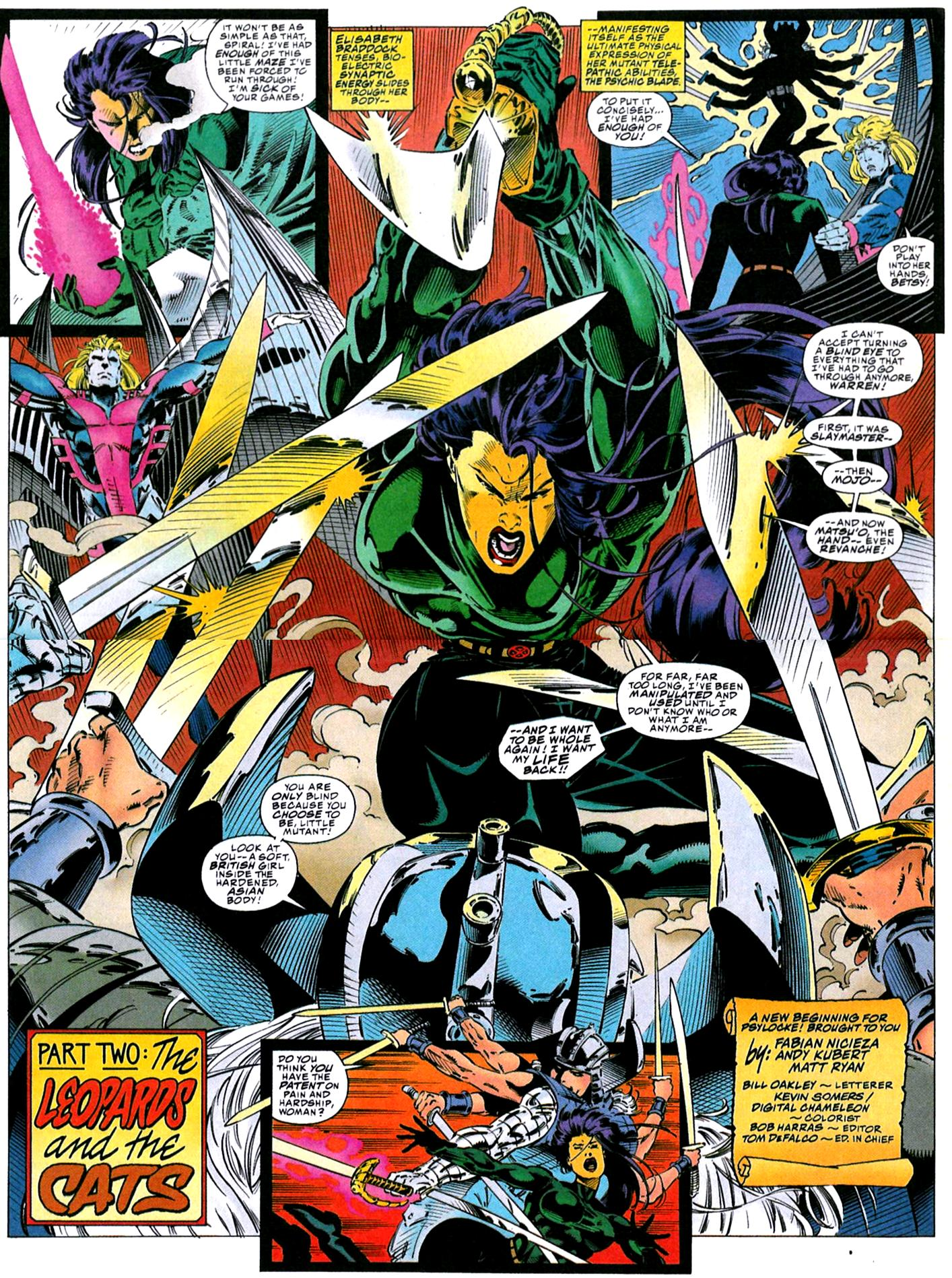 X-Men (1991) 32 Page 2