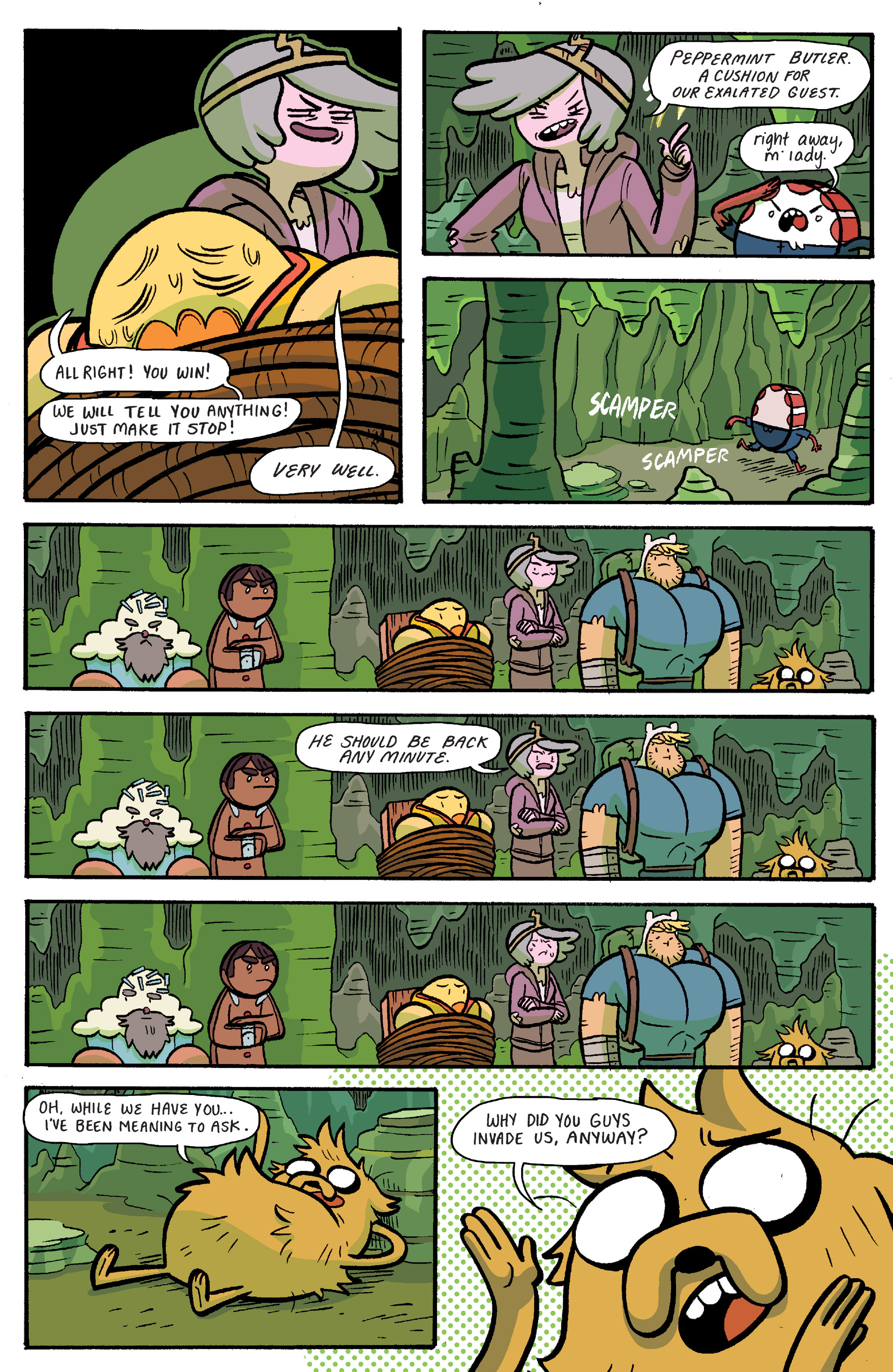 Read online Adventure Time: Banana Guard Academ comic -  Issue #6 - 13