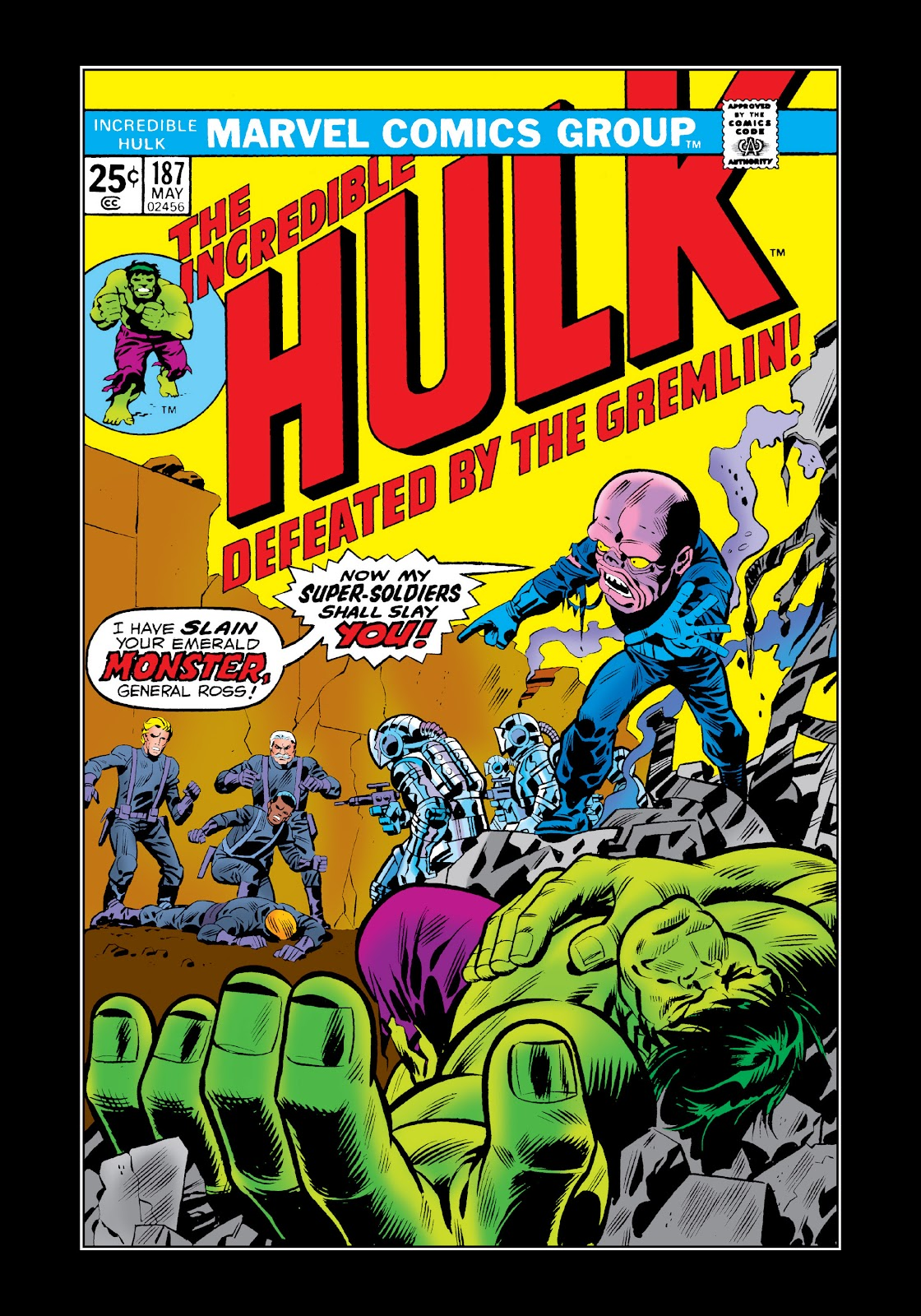 Read online Marvel Masterworks: The Incredible Hulk comic -  Issue # TPB 11 (Part 1) - 63