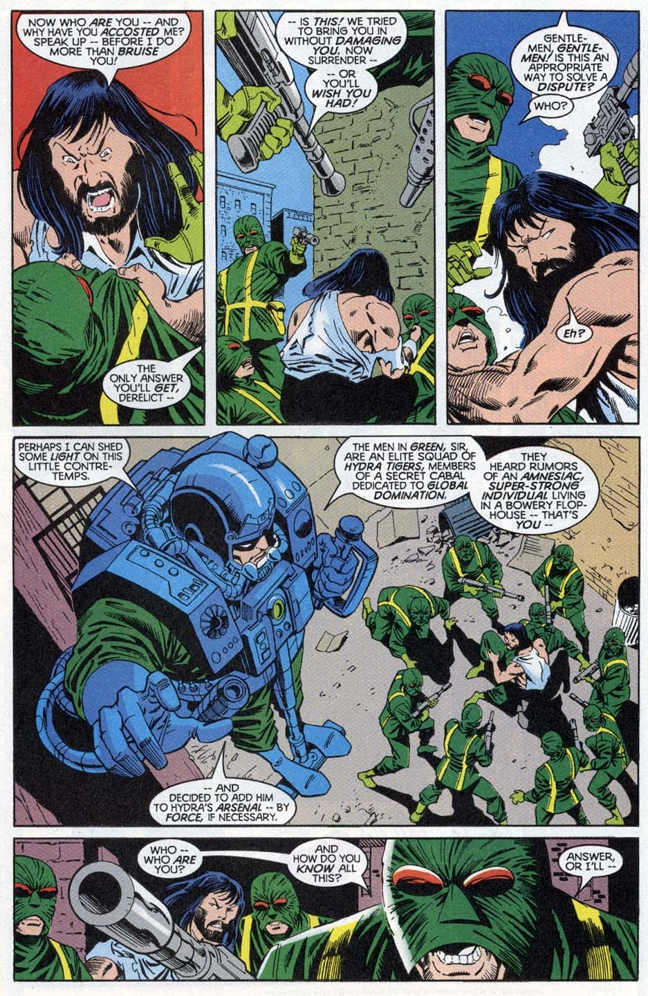 Thunderbolts: Distant Rumblings issue Full - Page 18