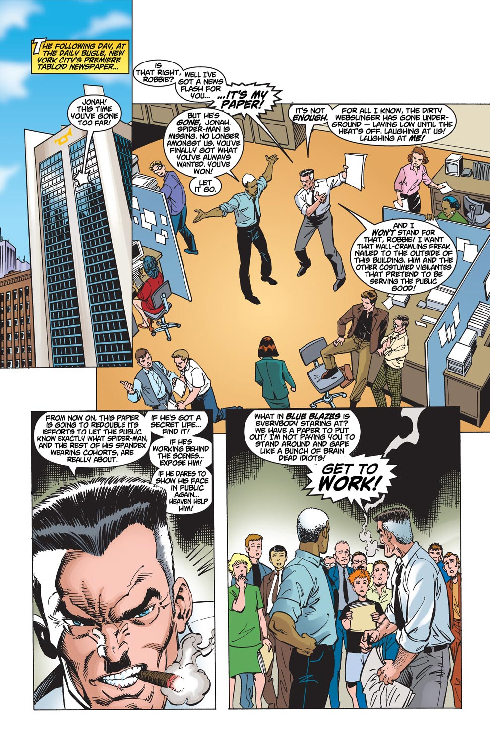 The Amazing Spider-Man (1999) 1 Page 10
