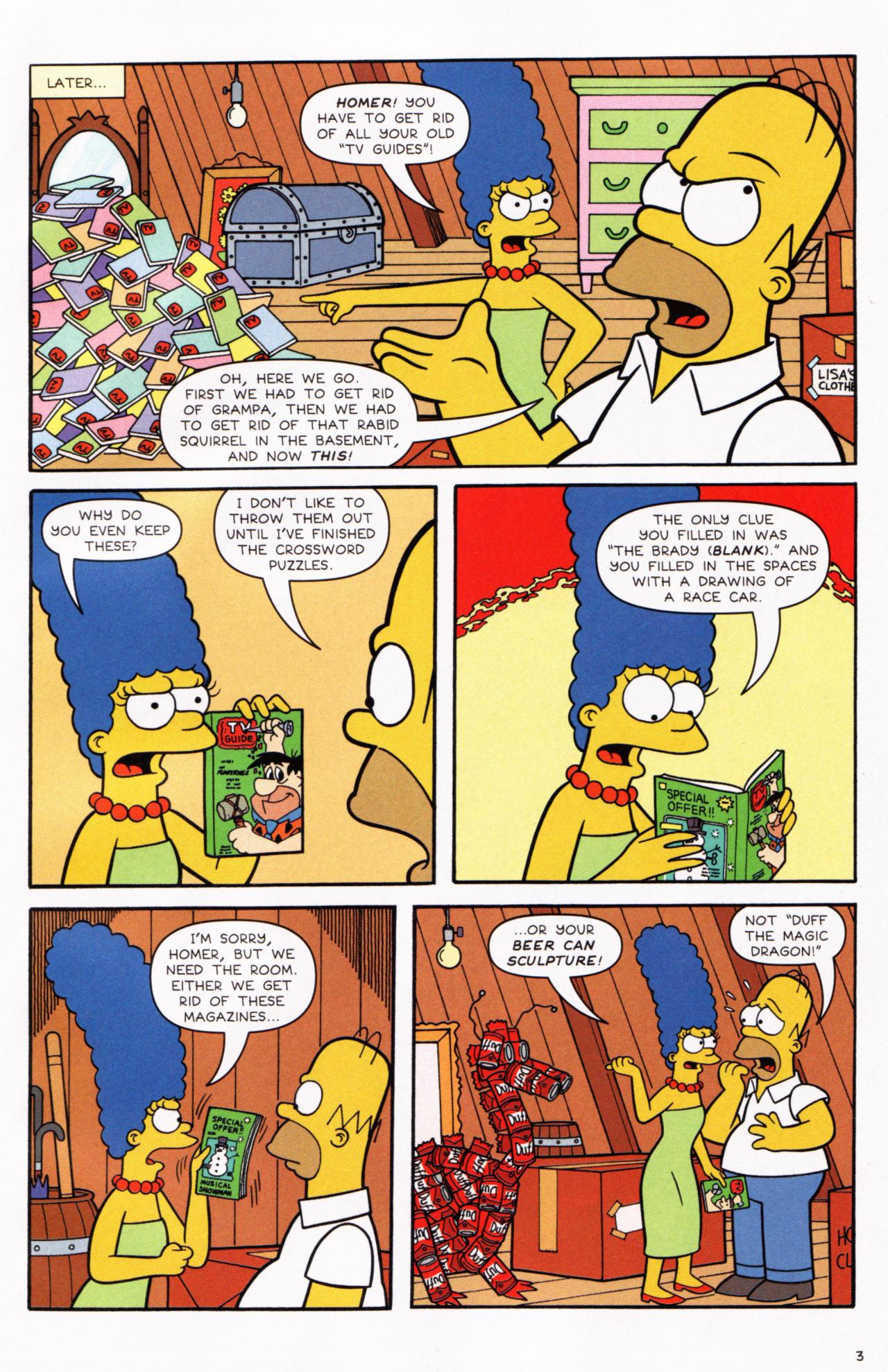 Read online Simpsons Comics comic -  Issue #130 - 4