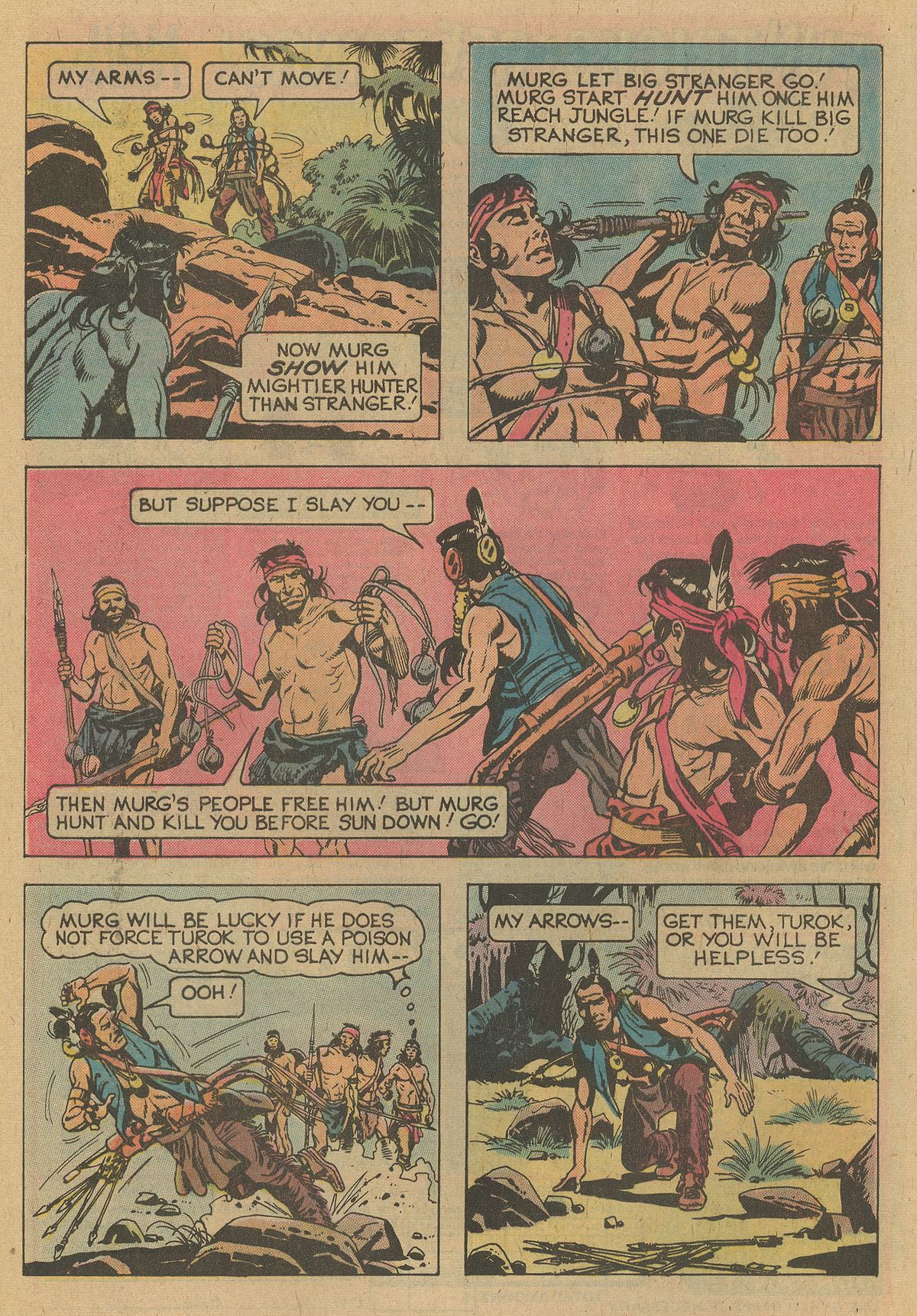 Read online Turok, Son of Stone comic -  Issue #109 - 8