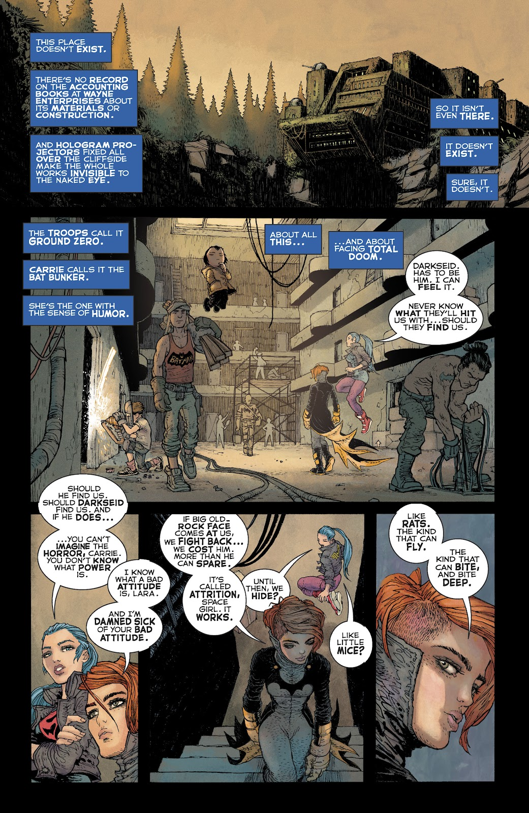 Dark Knight Returns: The Golden Child issue Full - Page 12