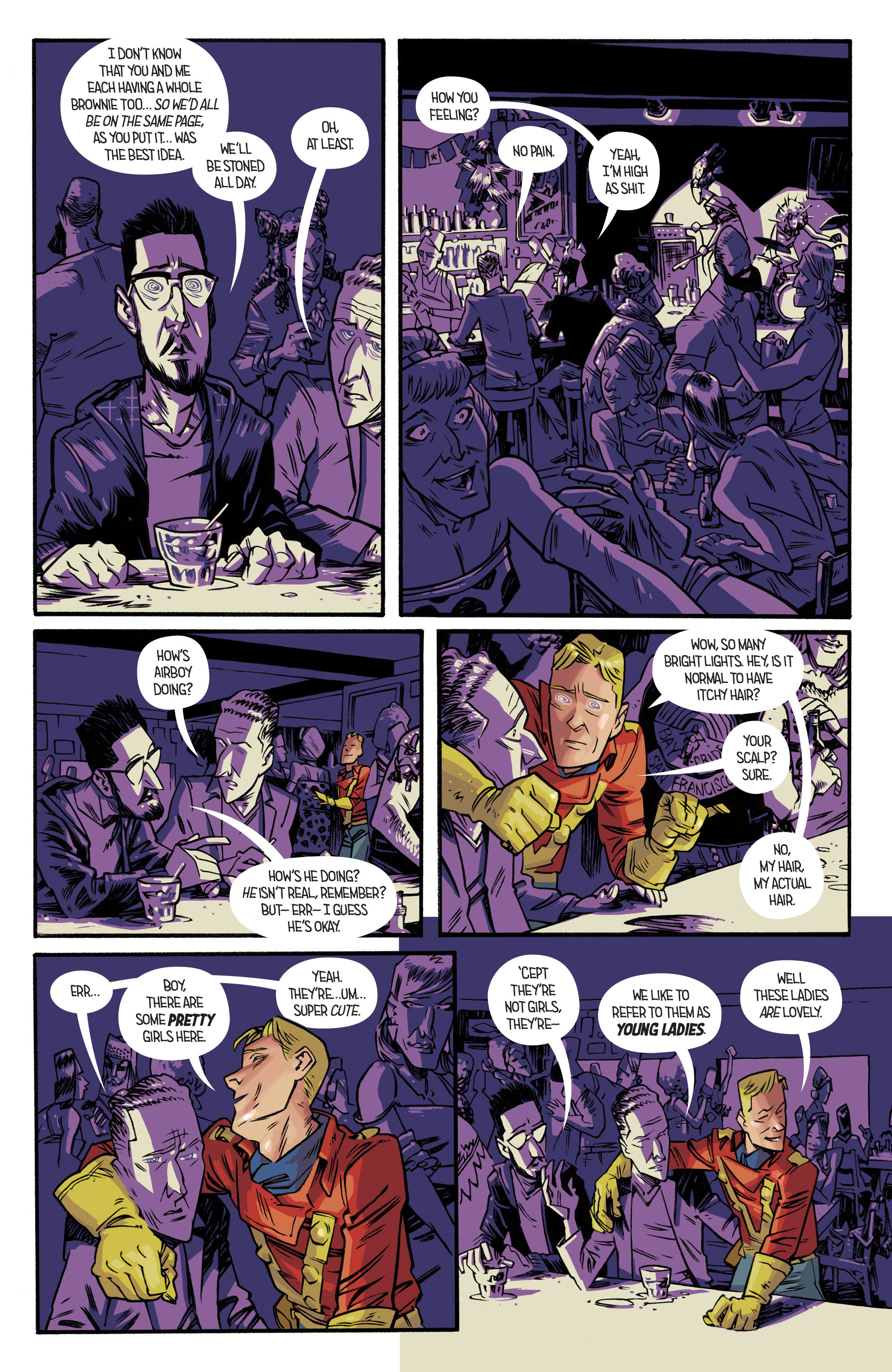 Read online Airboy comic -  Issue #2 - 16