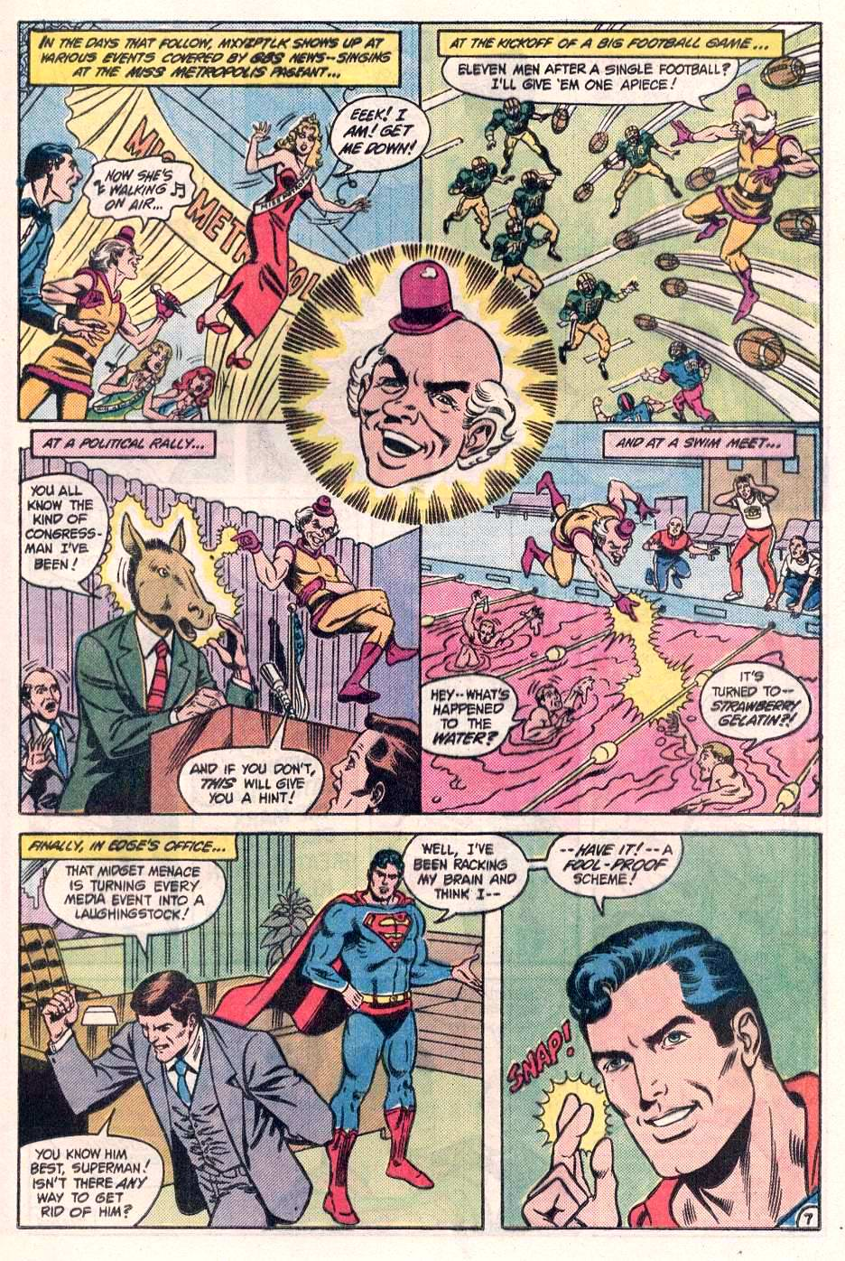 Read online Action Comics (1938) comic -  Issue #563 - 16