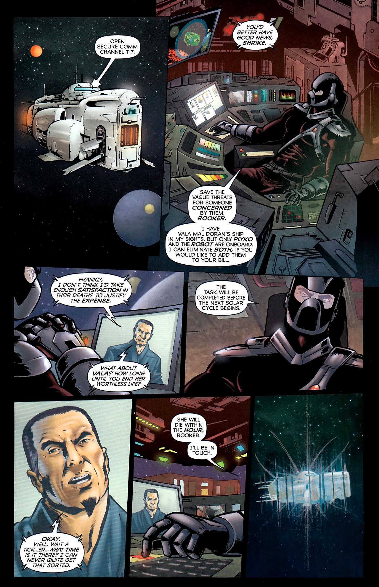 Read online Stargate Vala Mal Doran comic -  Issue #3 - 7