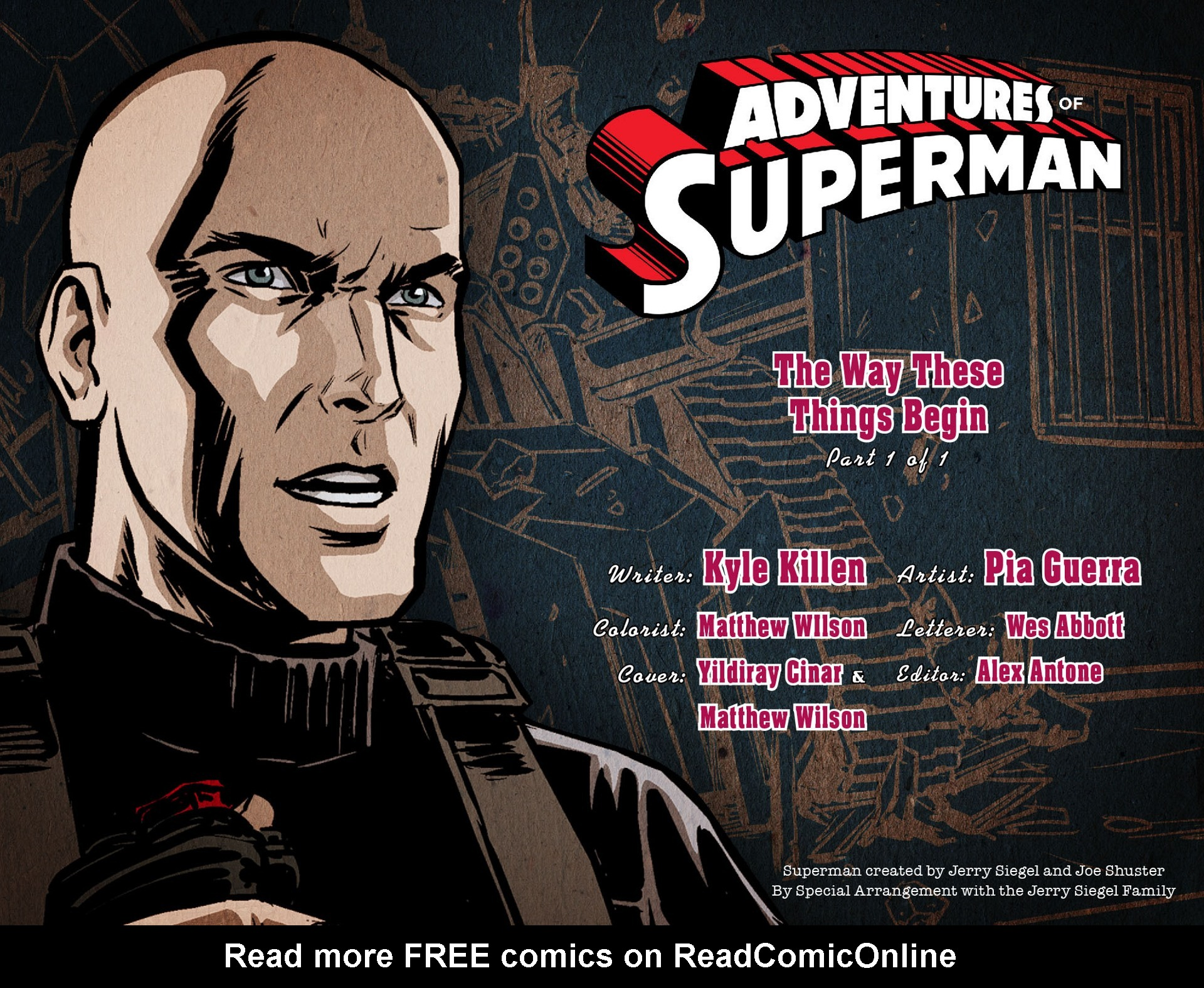 Read online Adventures of Superman [I] comic -  Issue #15 - 2