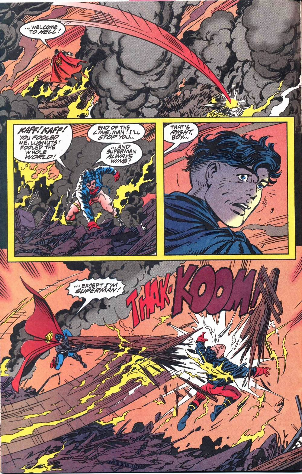 Read online Adventures of Superman (1987) comic -  Issue #503 - 16