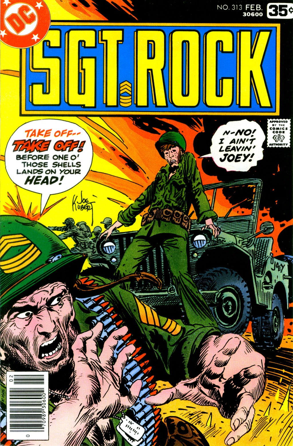 Read online Sgt. Rock comic -  Issue #313 - 1
