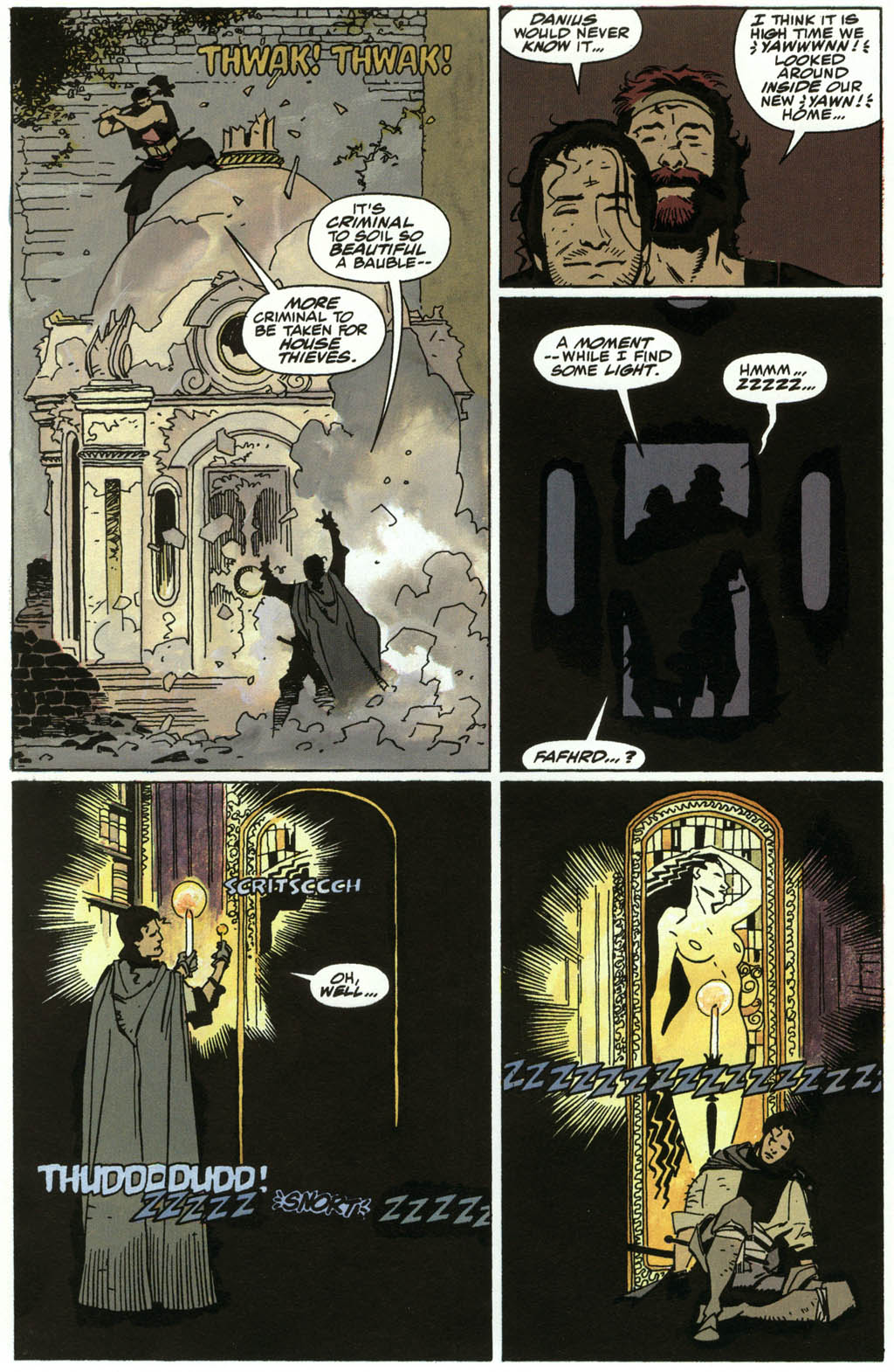 Read online Fafhrd and the Gray Mouser comic -  Issue #3 - 8