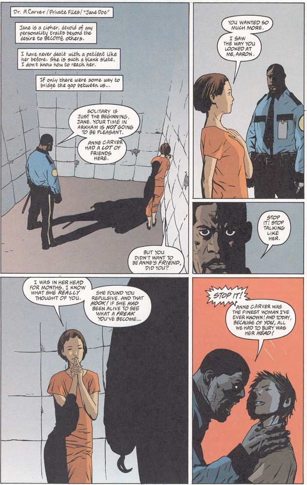 Read online Arkham Asylum: Living Hell comic -  Issue #2 - 8