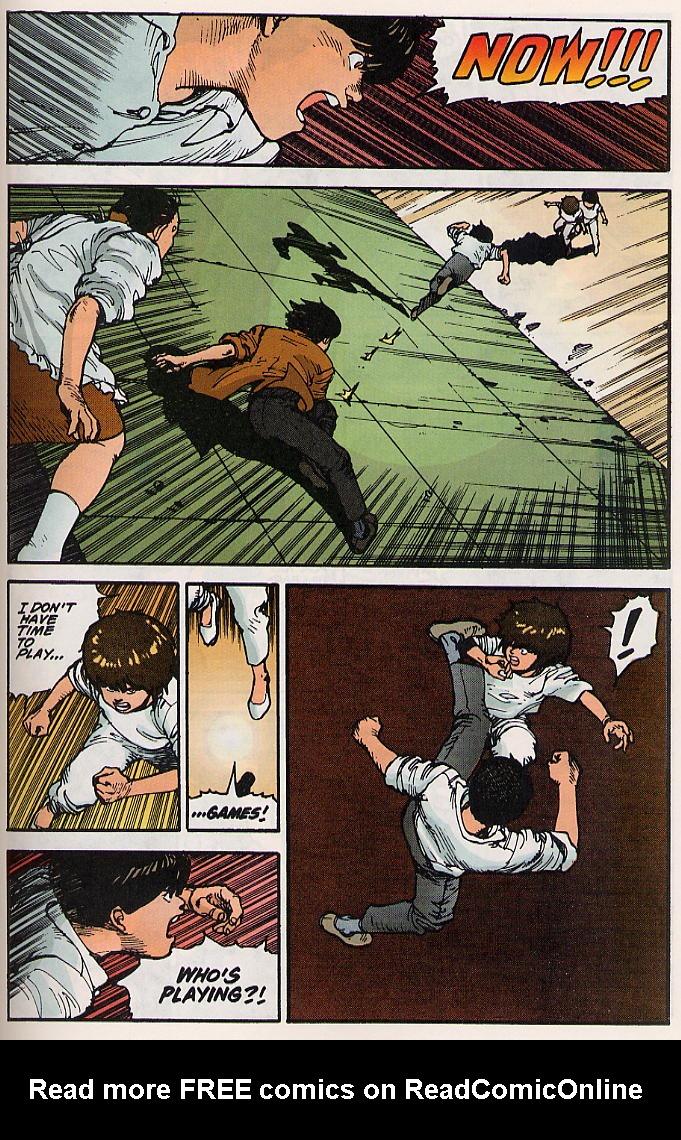 Read online Akira comic -  Issue #15 - 52