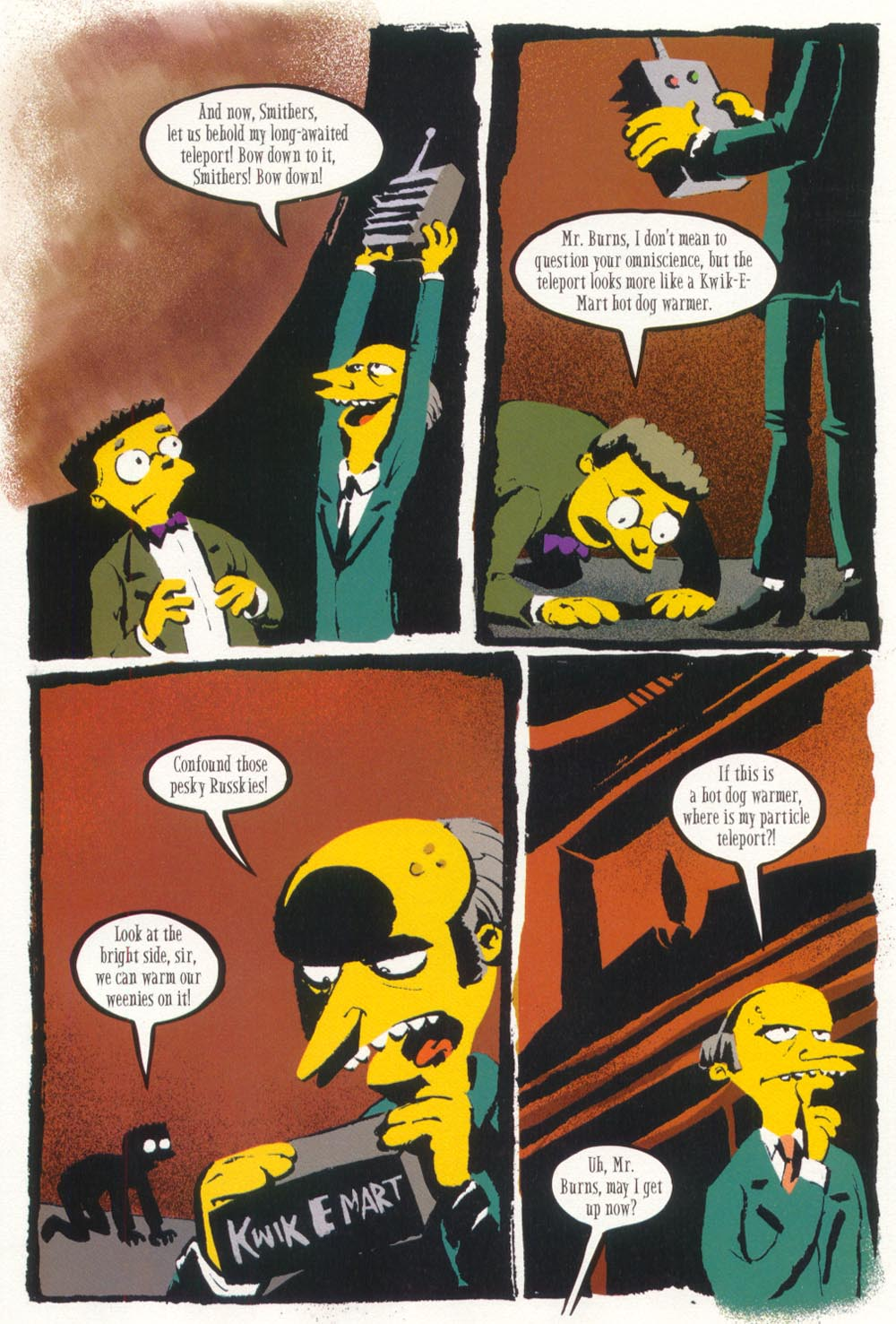 Read online Treehouse of Horror comic -  Issue #5 - 30