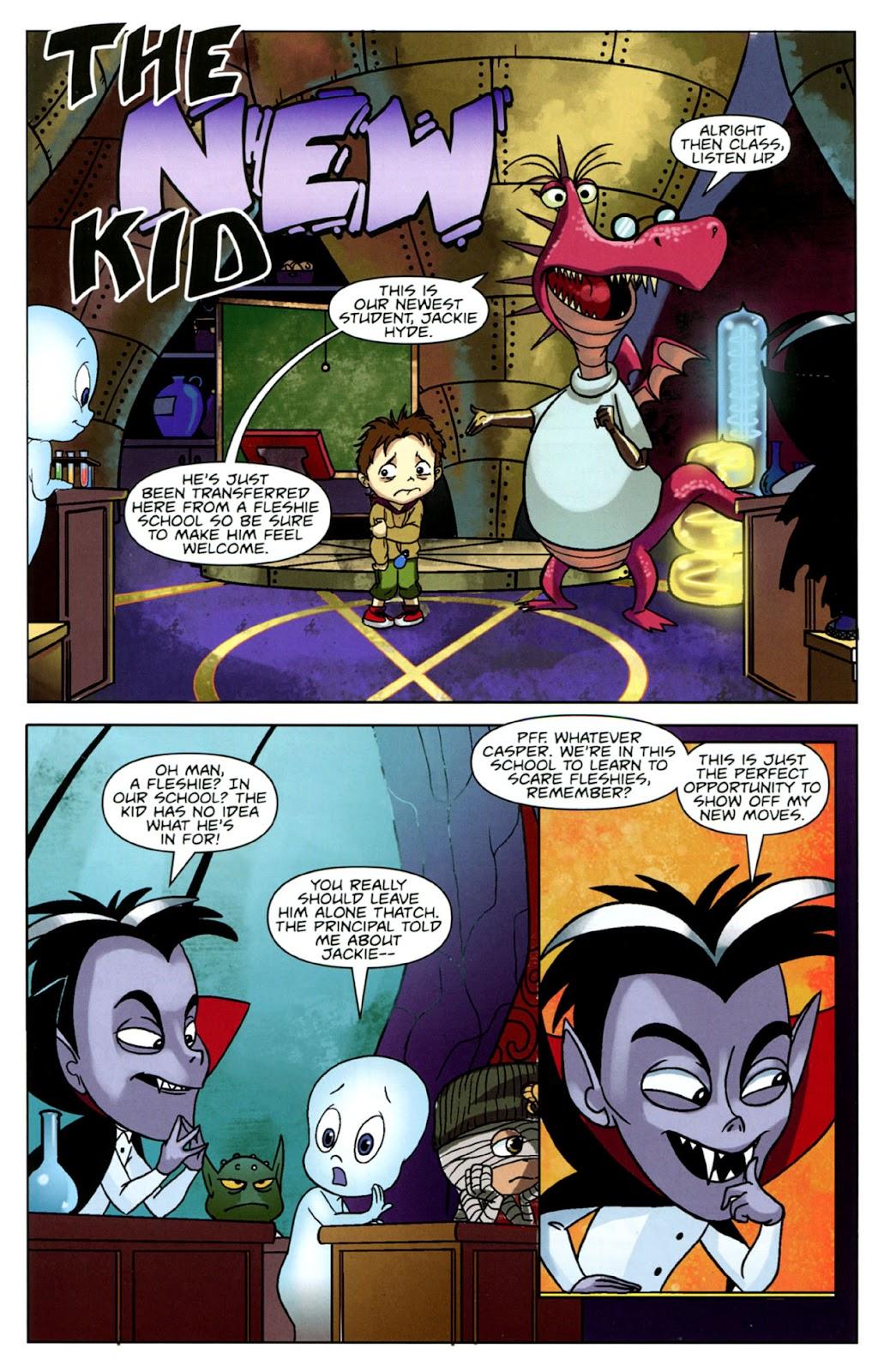 Read online Casper's Scare School comic -  Issue #1 - 19