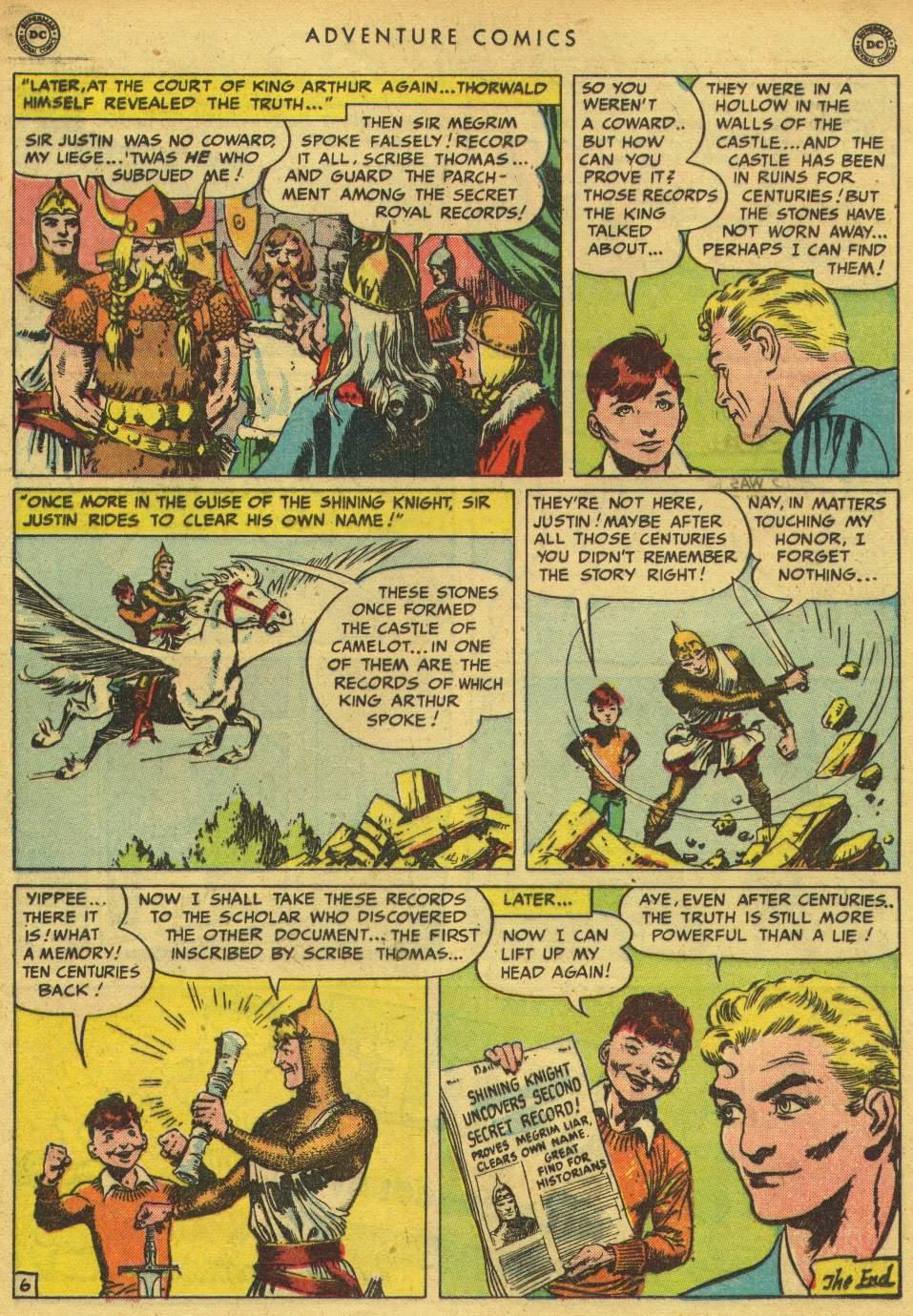 Read online Adventure Comics (1938) comic -  Issue #150 - 35