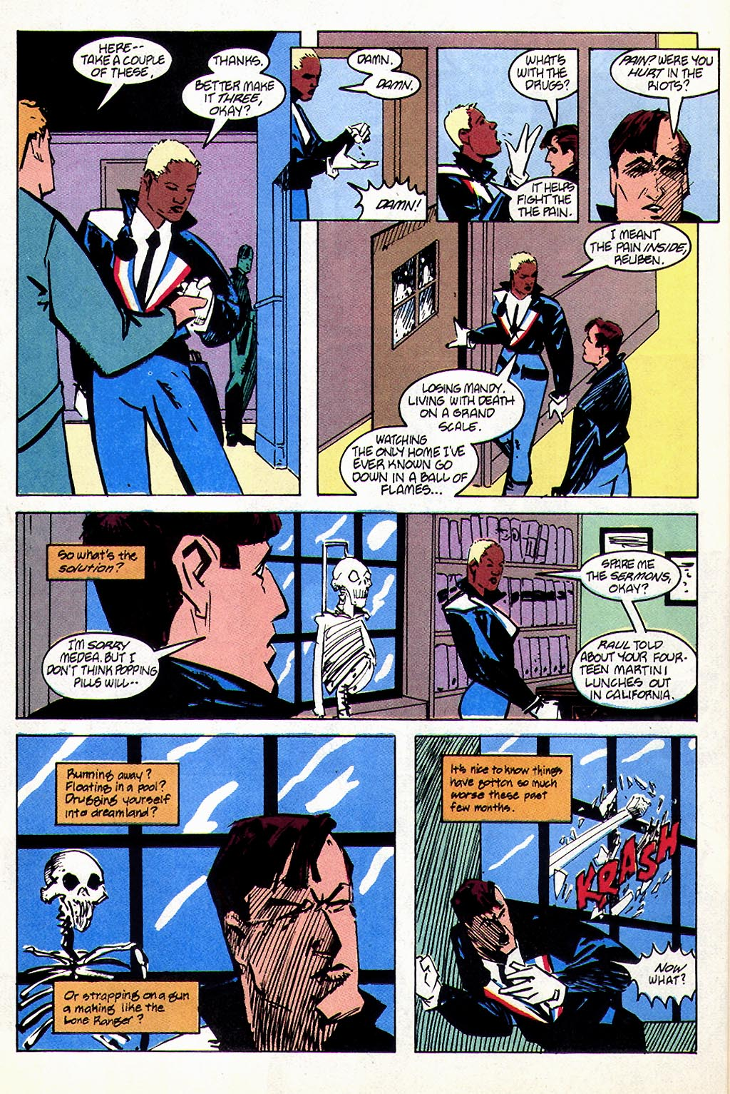 Read online American Flagg! comic -  Issue #45 - 12