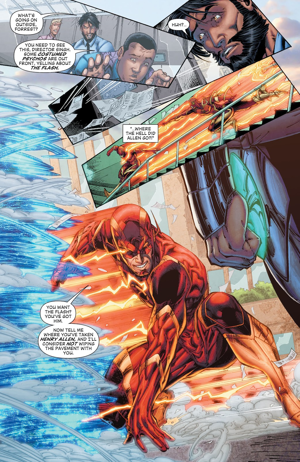 Read online The Flash (2011) comic -  Issue # _TPB 8 (Part 2) - 32