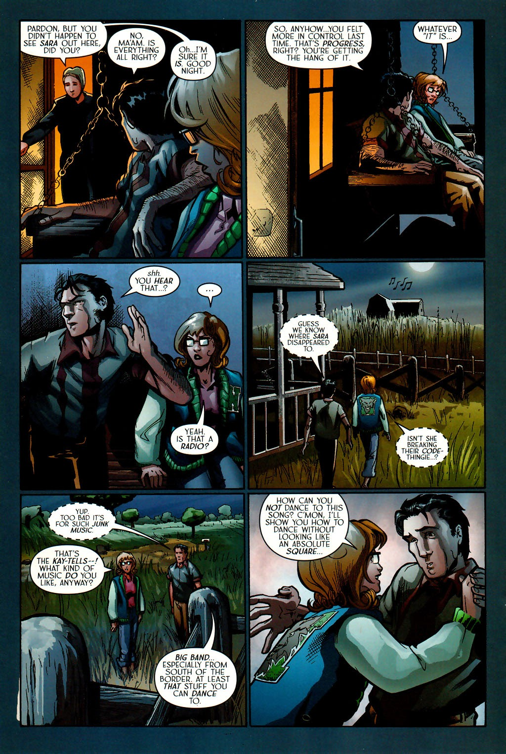 Read online Route 666 comic -  Issue #16 - 16