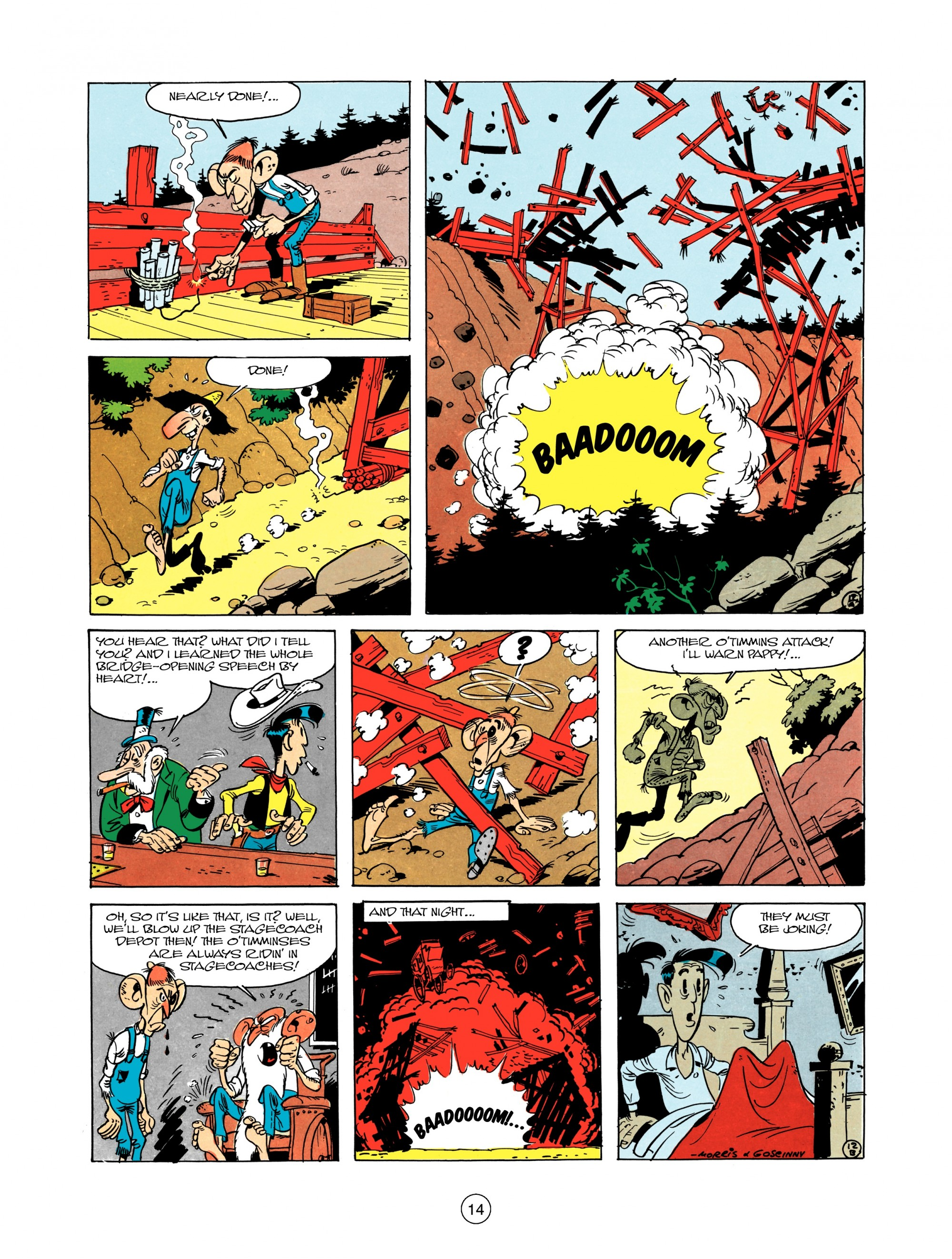 Read online A Lucky Luke Adventure comic -  Issue #12 - 14