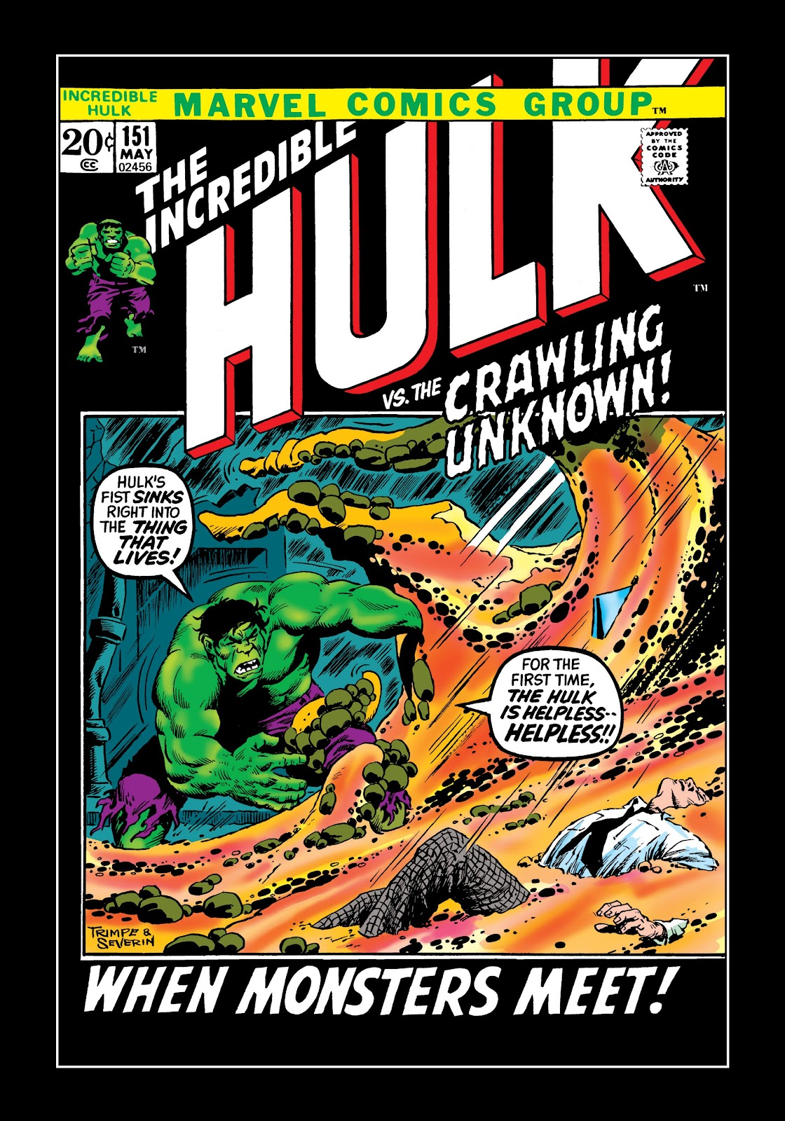 Read online Marvel Masterworks: The Incredible Hulk comic -  Issue # TPB 8 (Part 2) - 52