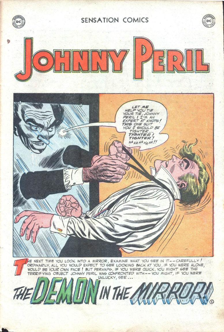 Read online Sensation (Mystery) Comics comic -  Issue #109 - 27