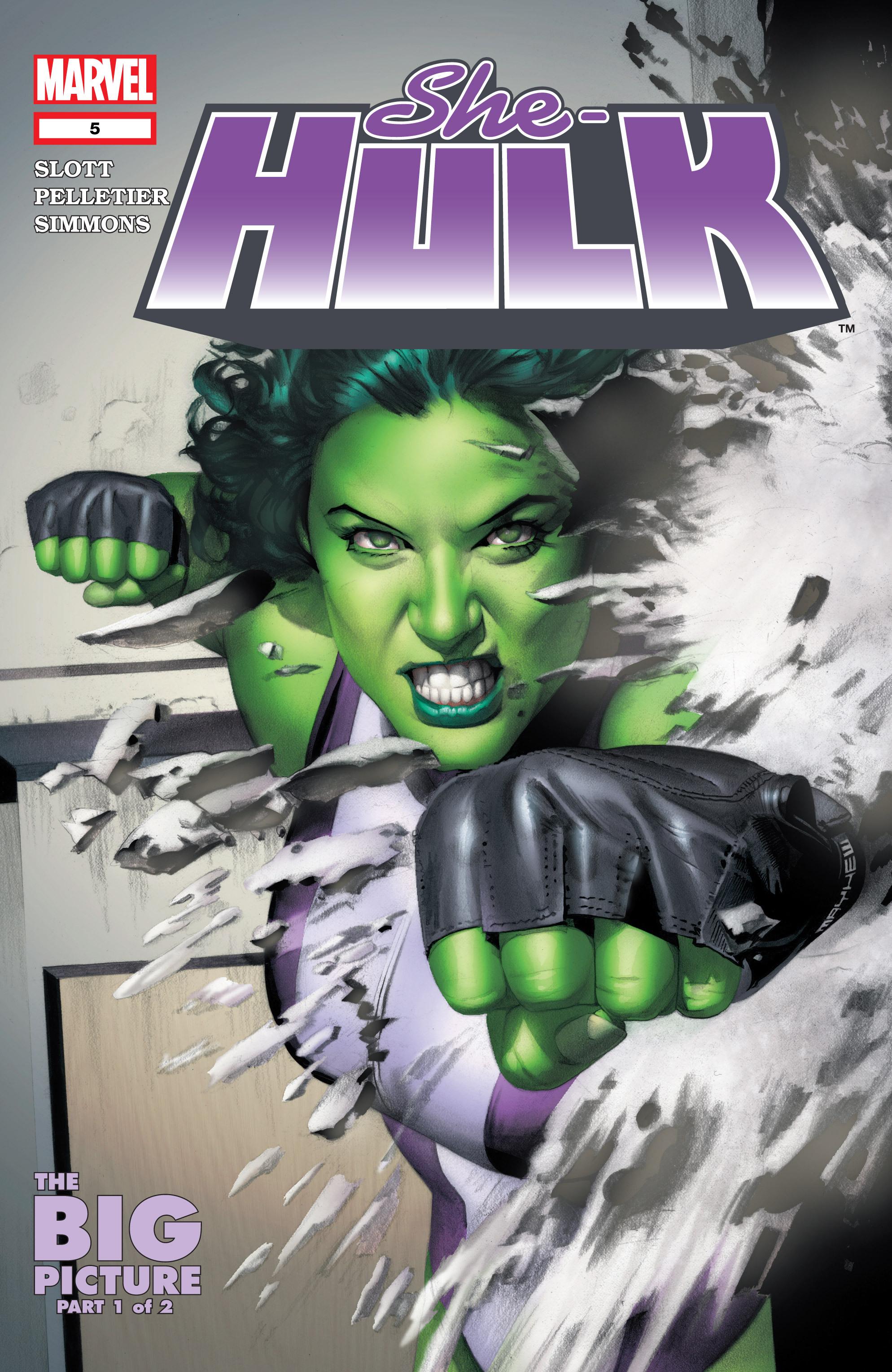 Read online She-Hulk (2004) comic -  Issue #5 - 1