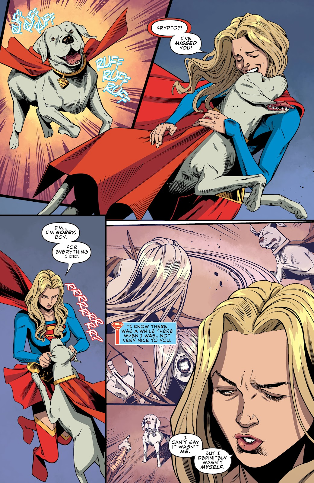 Read online Supergirl (2016) comic -  Issue #41 - 8