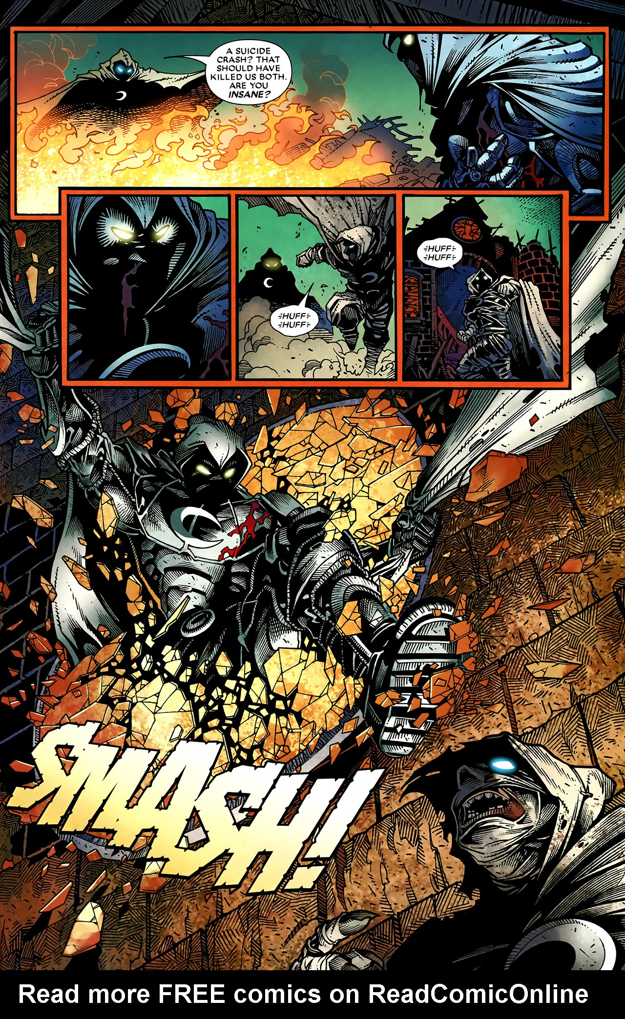 Read online Shadowland: Moon Knight comic -  Issue #2 - 22
