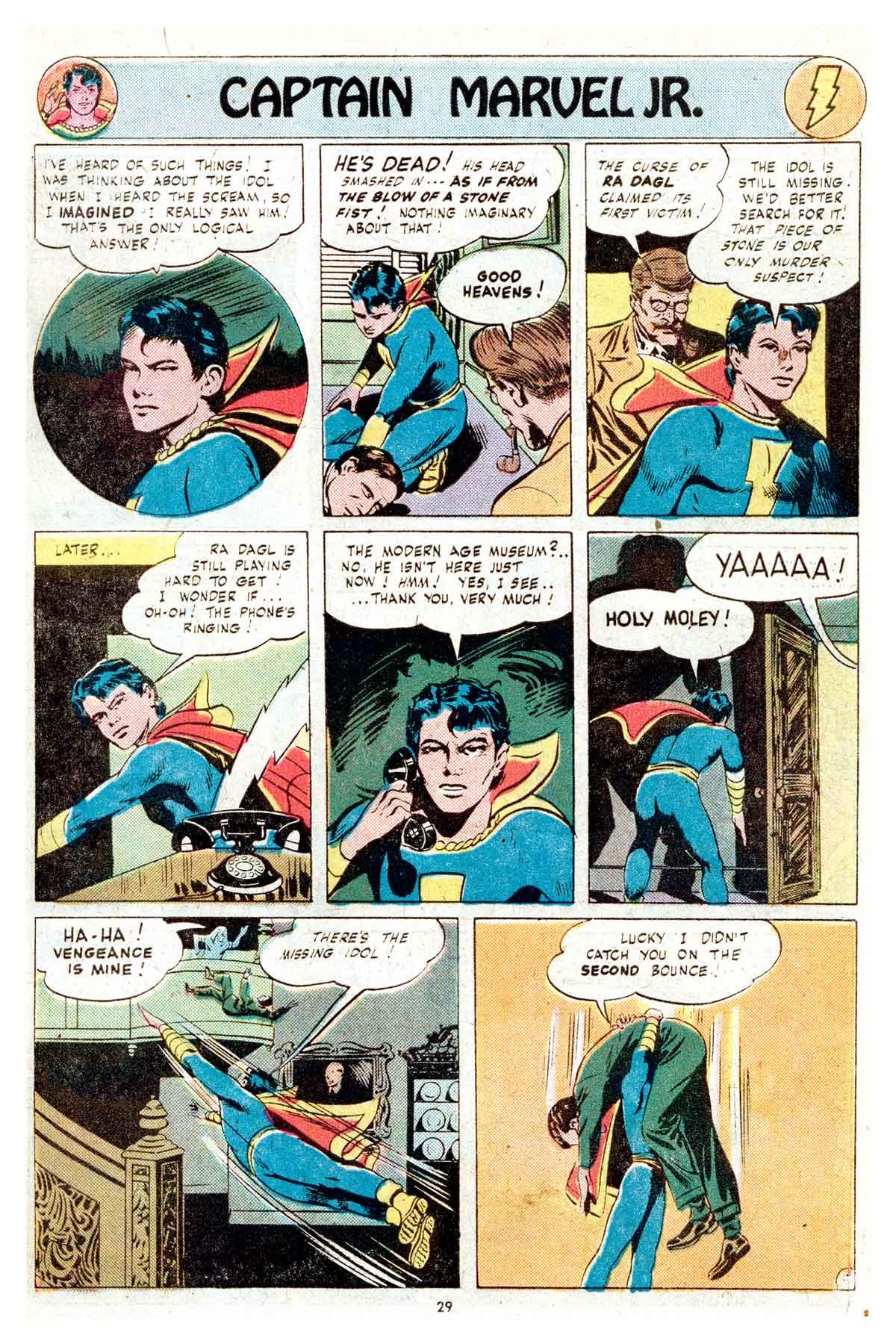 Read online Shazam! (1973) comic -  Issue #17 - 29