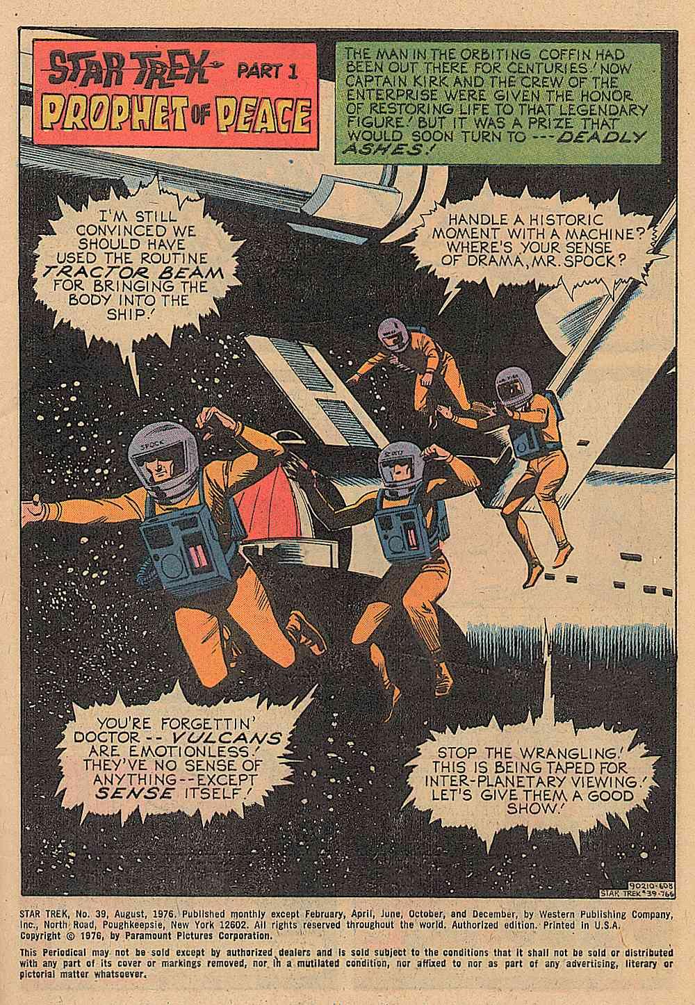 Star Trek (1967) issue 39 - Page 2