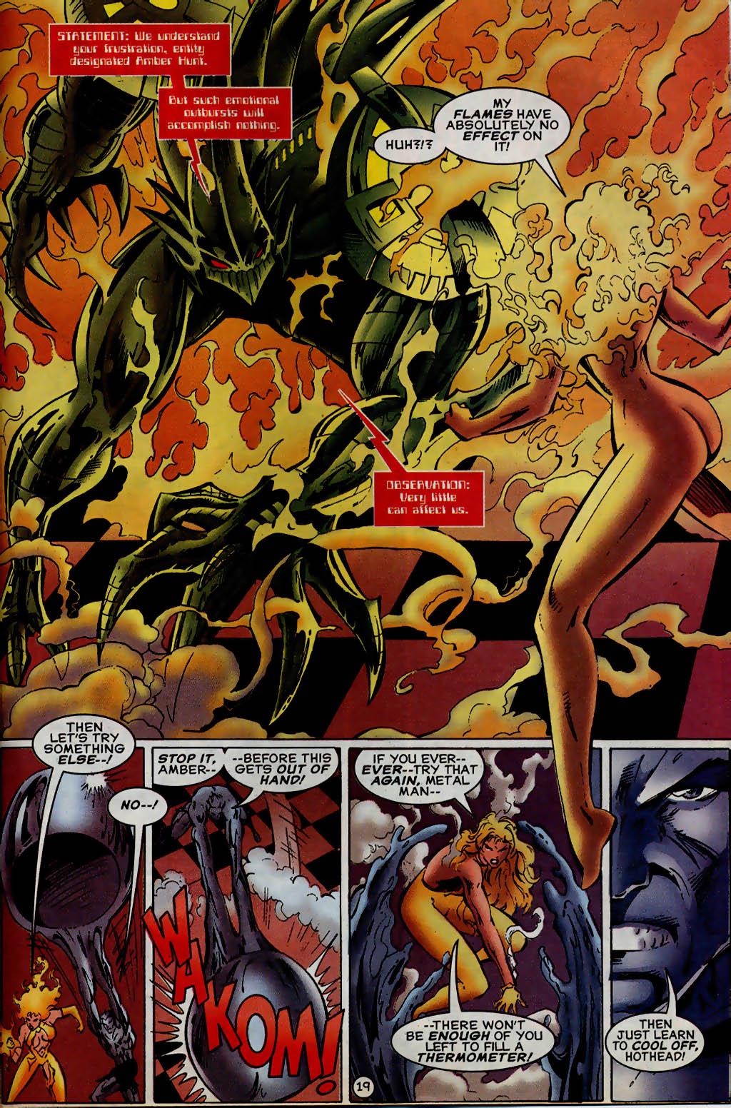 Read online UltraForce (1995) comic -  Issue #13 - 20