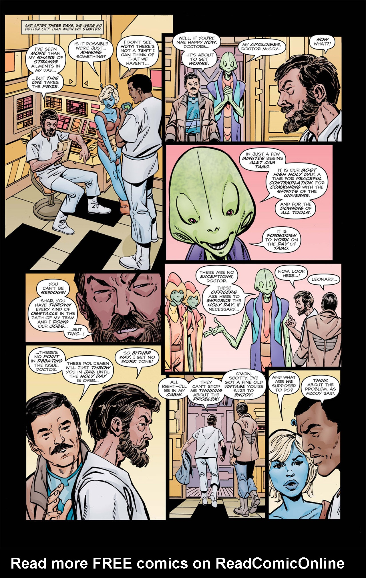 Read online Star Trek: Leonard McCoy, Frontier Doctor comic -  Issue #2 - 14