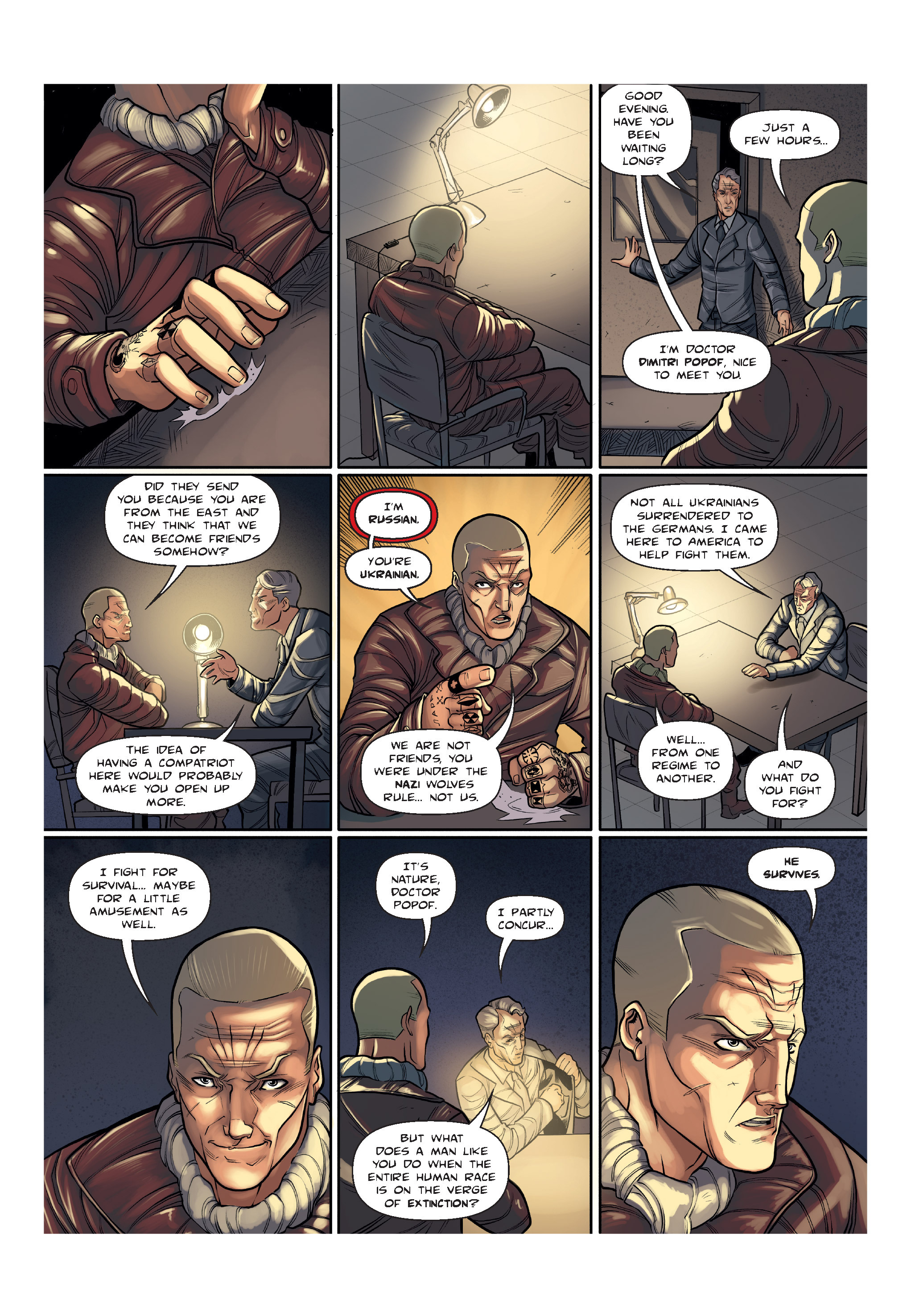 Read online The Shadow of a Terrible Thing comic -  Issue # TPB - 17