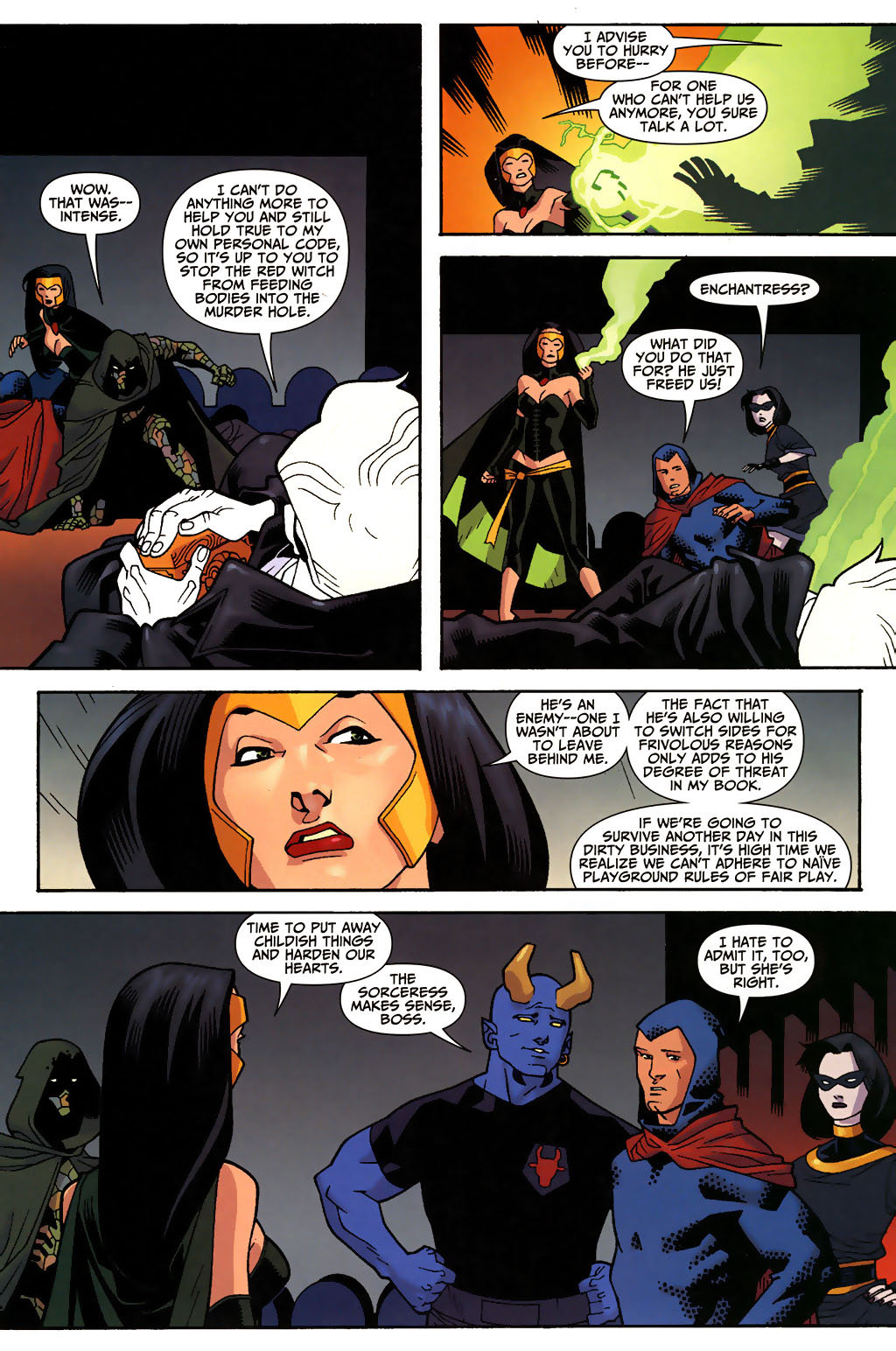 Read online Shadowpact comic -  Issue #3 - 12
