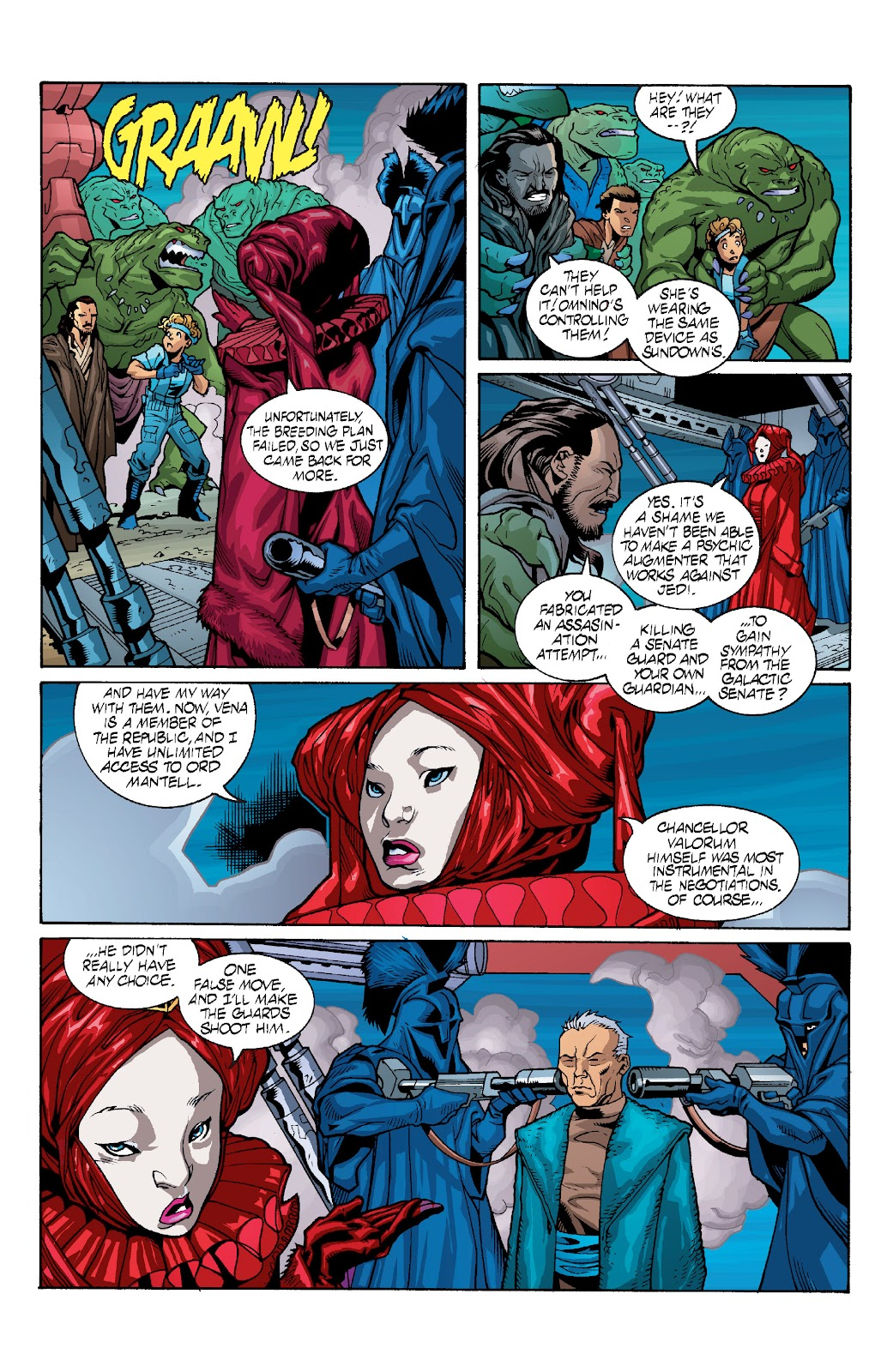 Read online Star Wars Legends: Rise of the Sith - Epic Collection comic -  Issue # TPB 1 (Part 4) - 39