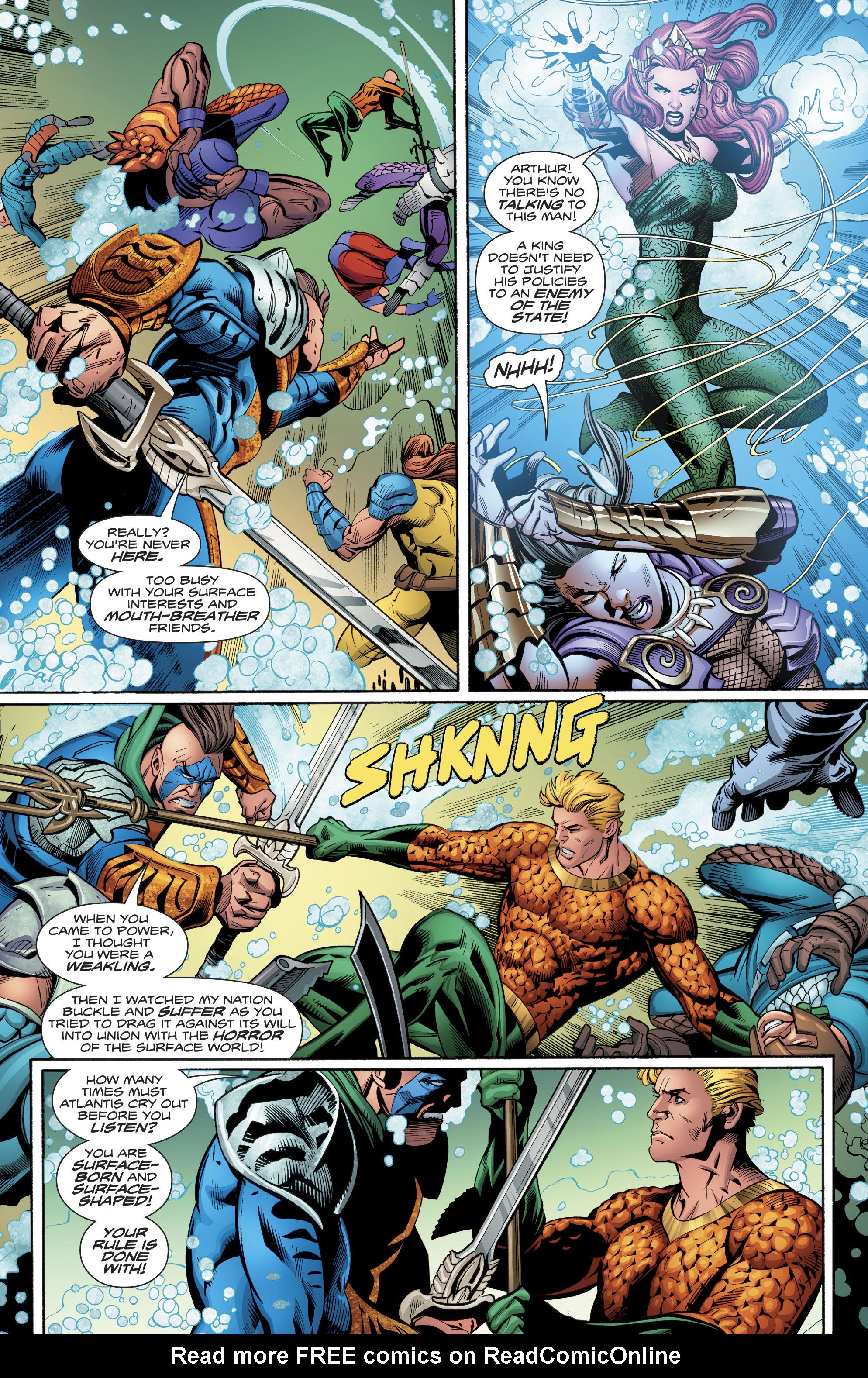 Read online Aquaman (2016) comic -  Issue #23 - 9