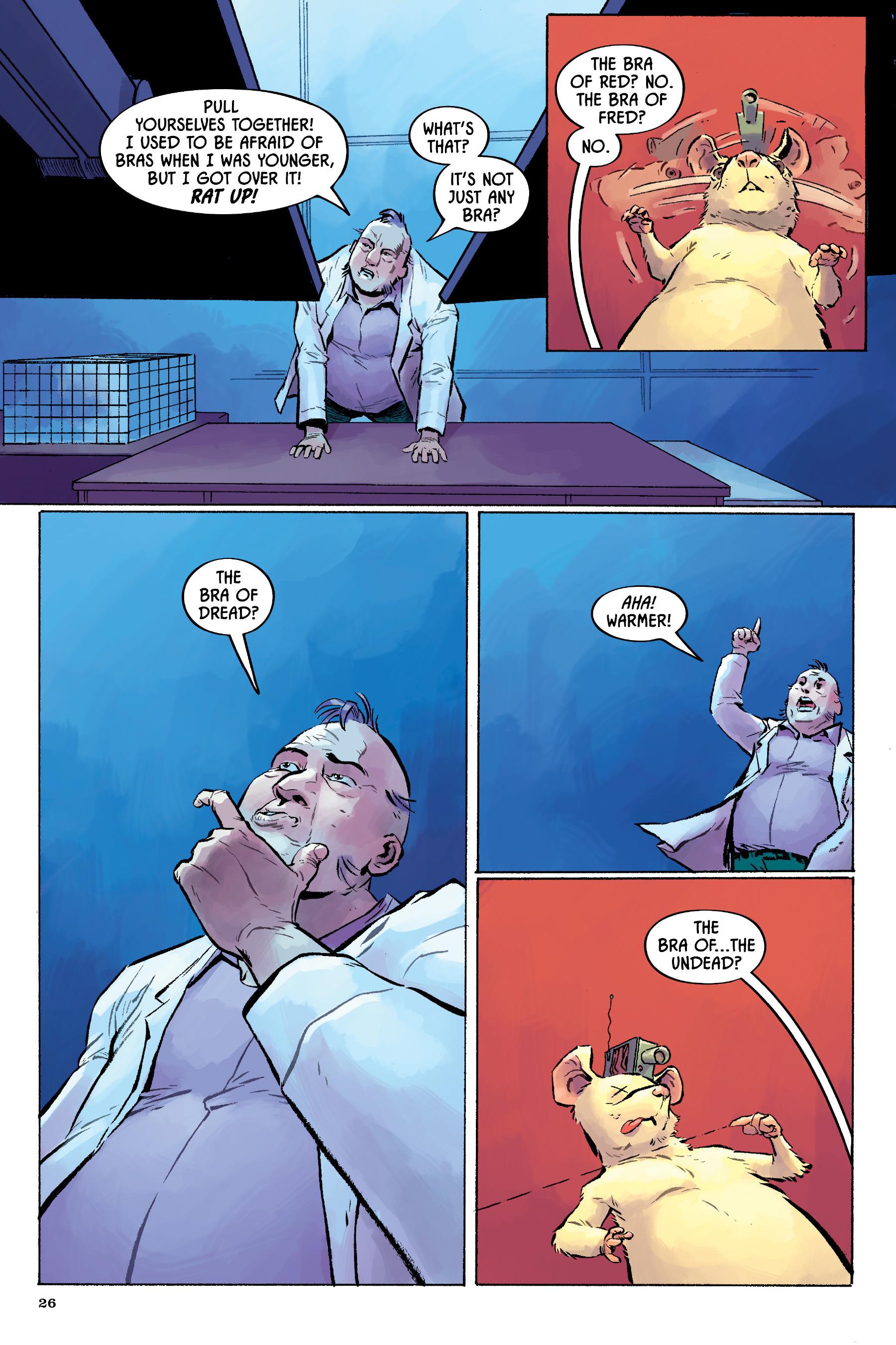 Read online Angel Catbird comic -  Issue # TPB 2 - 27