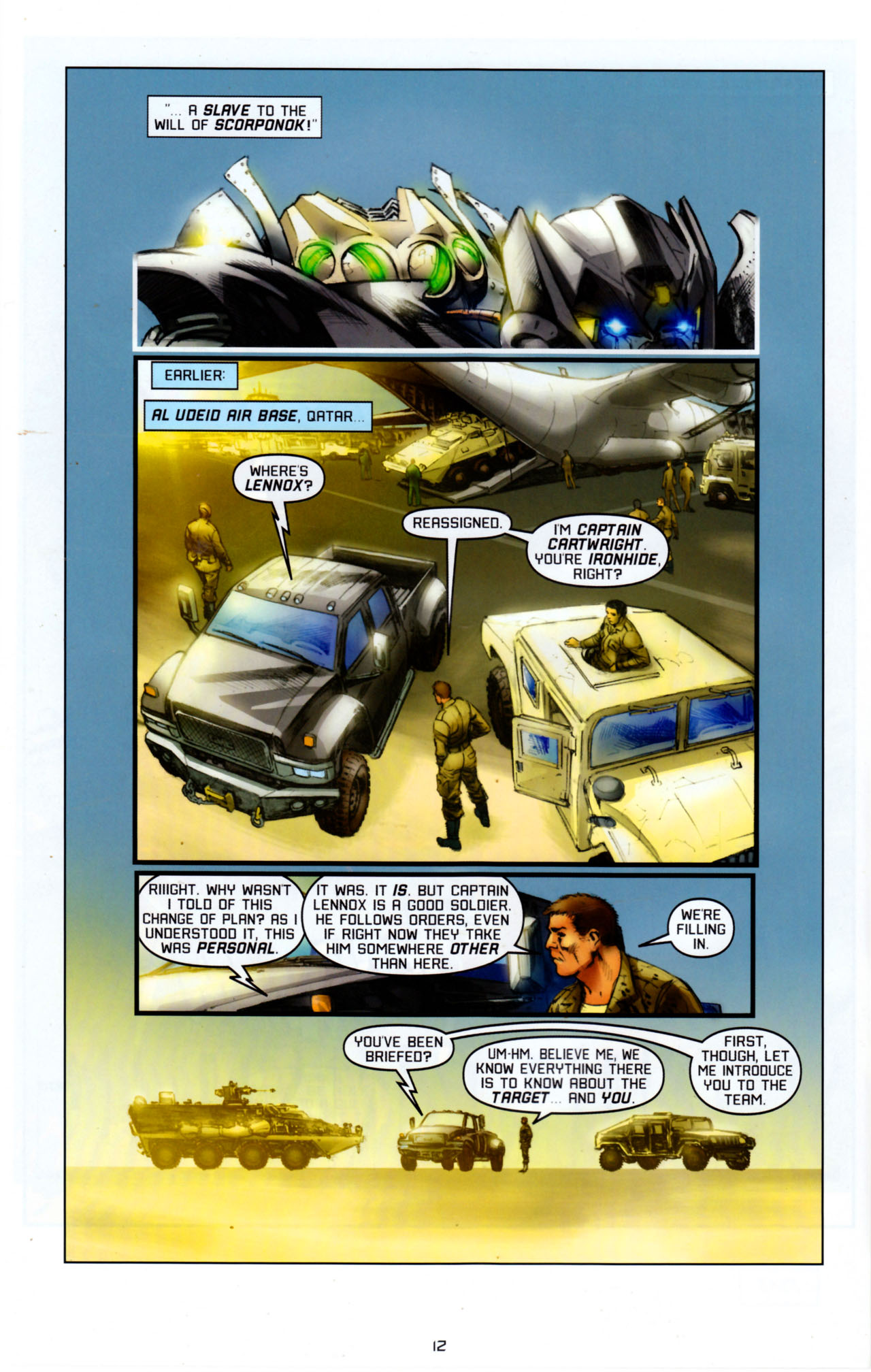 Read online Transformers: Saga of the Allspark comic -  Issue #4 - 15
