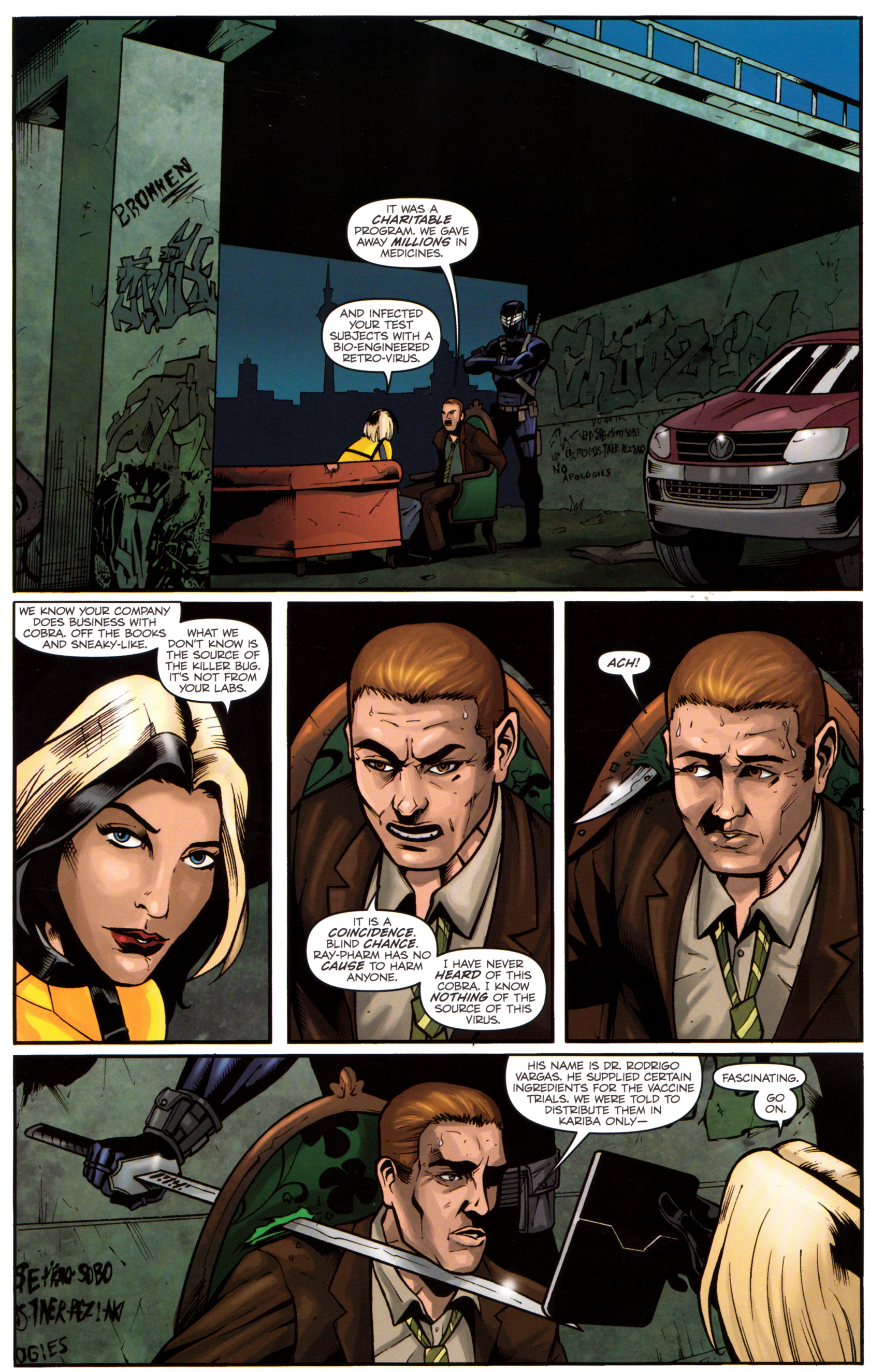 Read online G.I. Joe: Snake Eyes comic -  Issue #5 - 8
