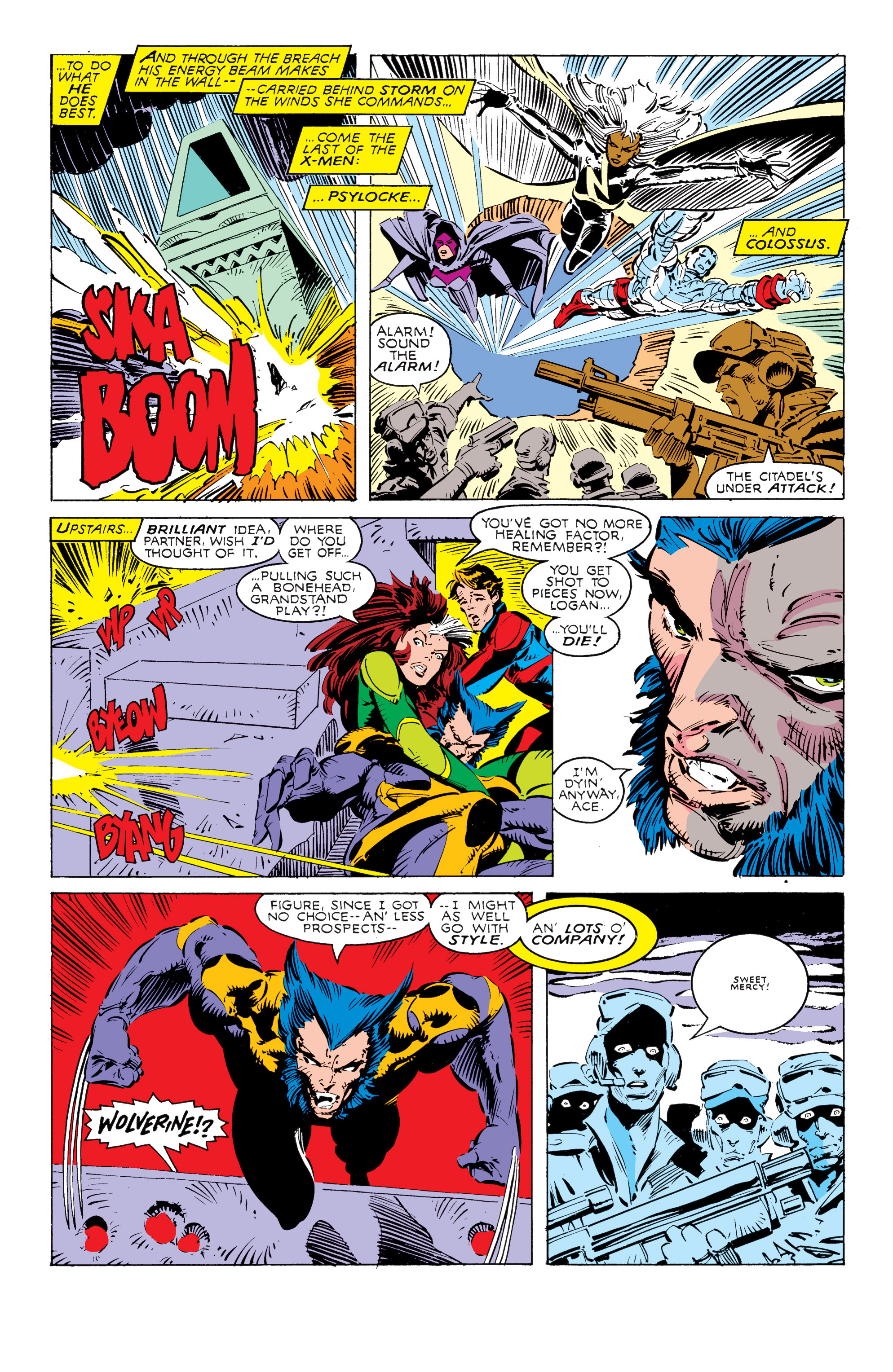 Read online Uncanny X-Men (1963) comic -  Issue #238 - 17