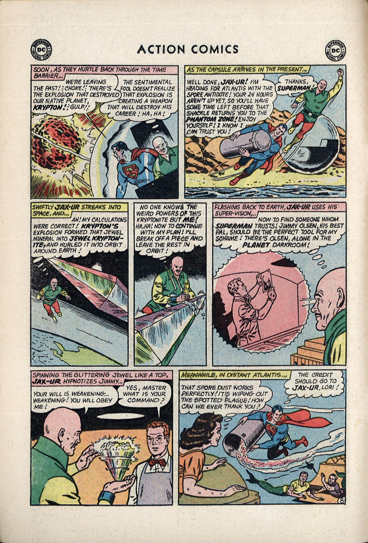 Read online Action Comics (1938) comic -  Issue #310 - 10