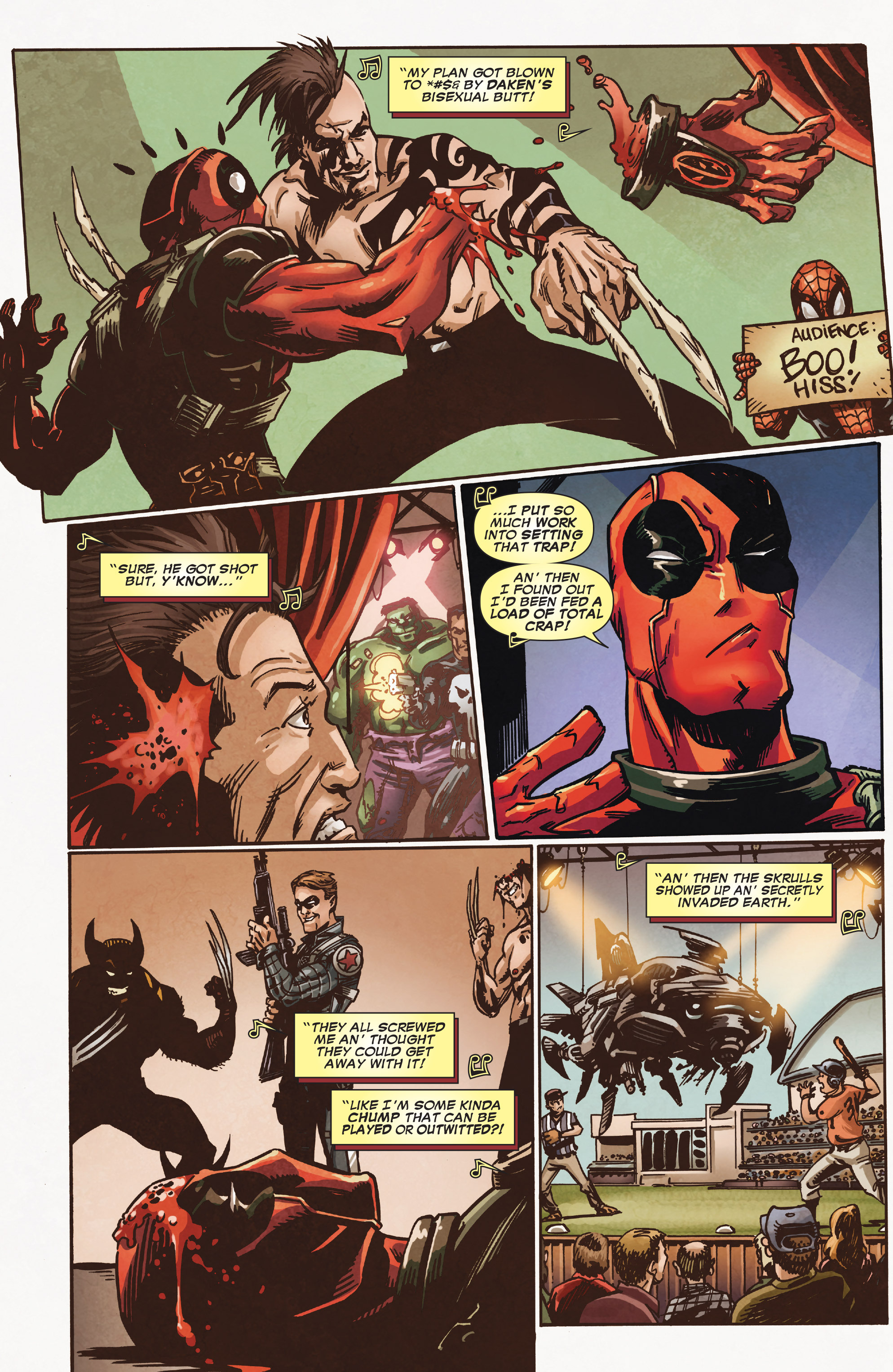 Read online True Believers: Deadpool the Musical comic -  Issue # Full - 8