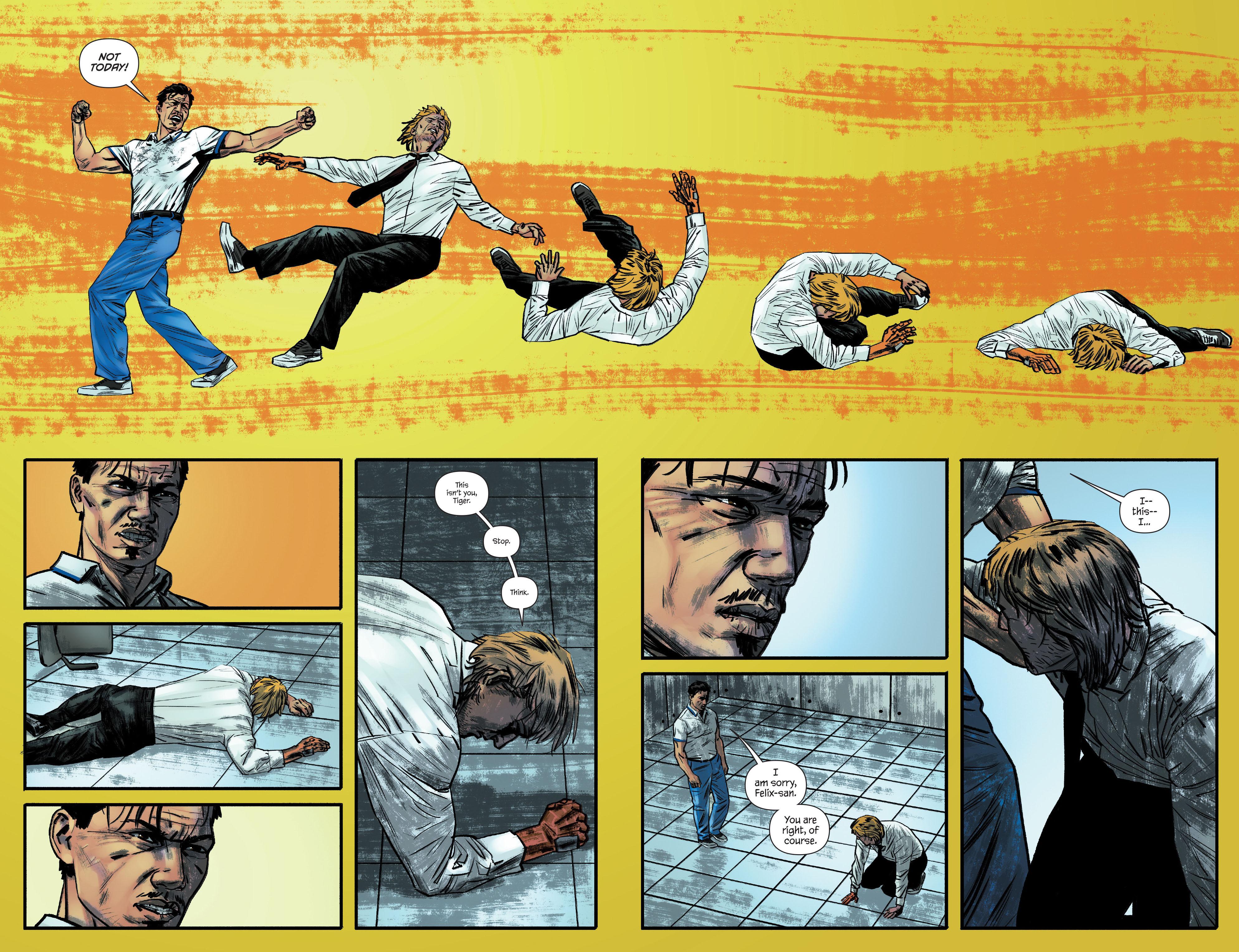 Read online James Bond: Felix Leiter comic -  Issue #4 - 5