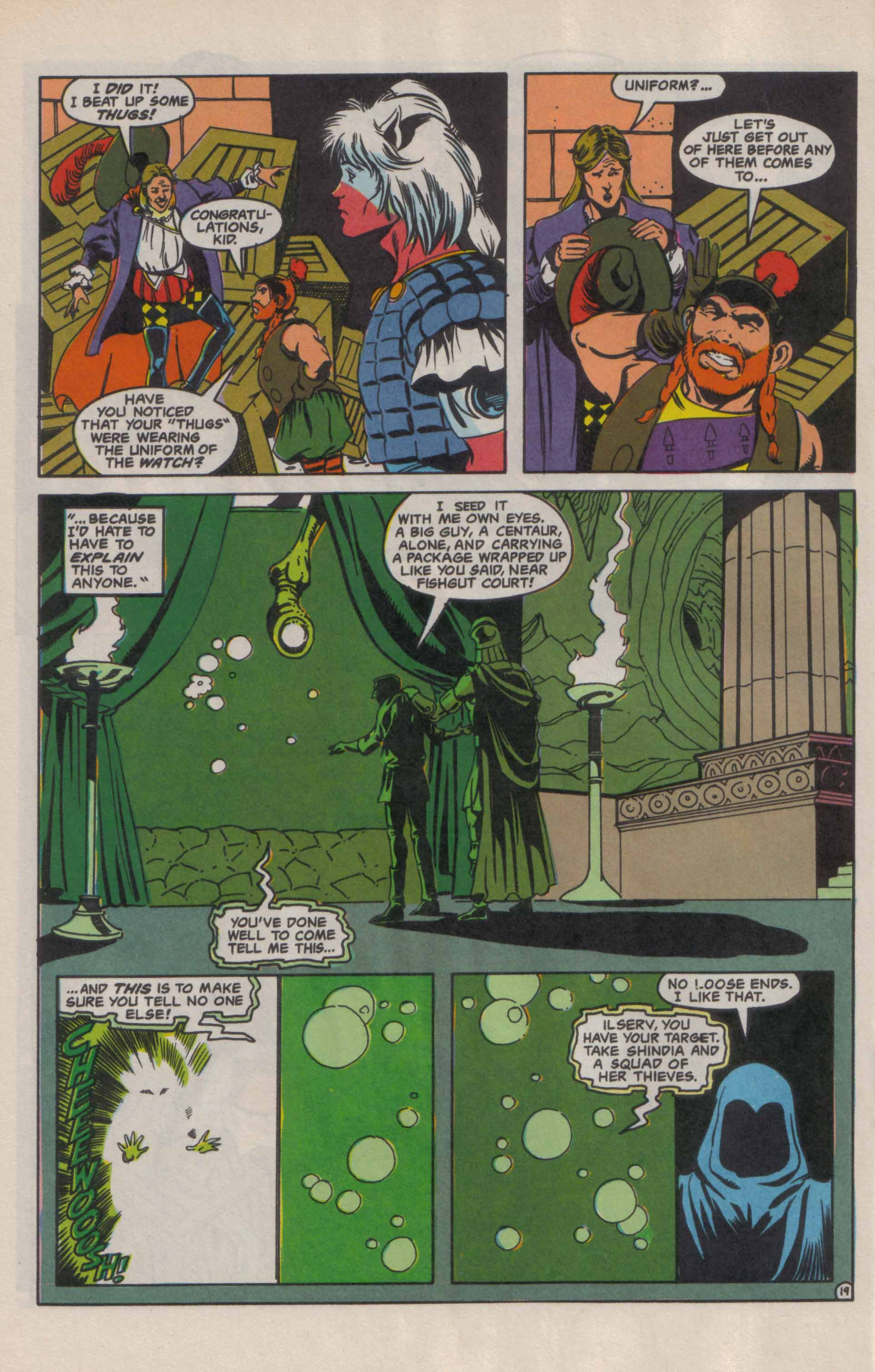 Read online Advanced Dungeons & Dragons comic -  Issue #9 - 20