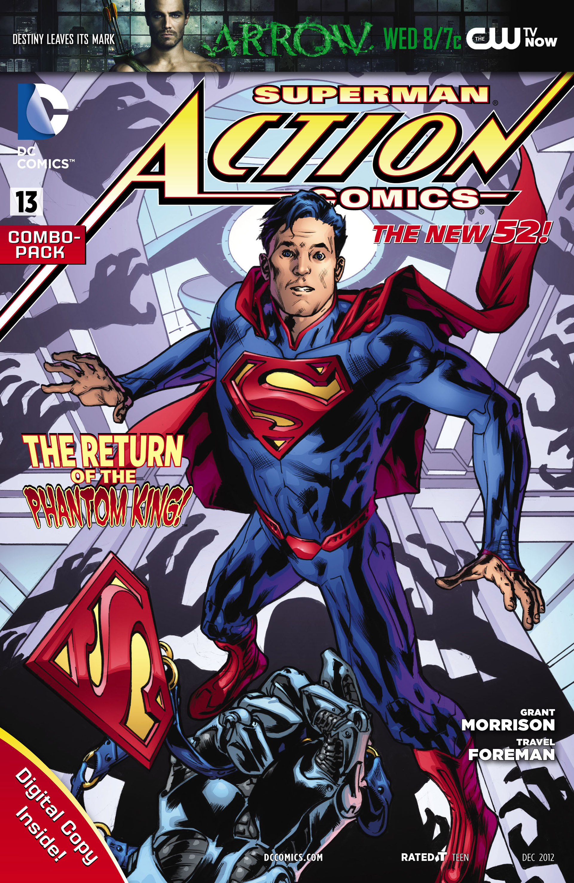 Read online Action Comics (2011) comic -  Issue #13 - 34