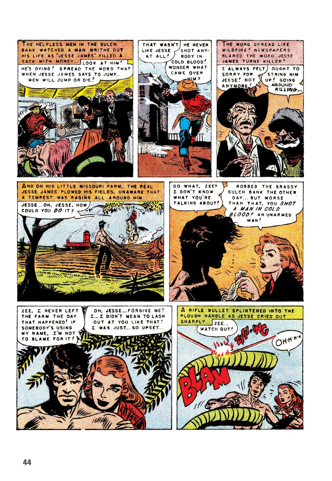 Read online The Joe Kubert Archives comic -  Issue # TPB (Part 1) - 55