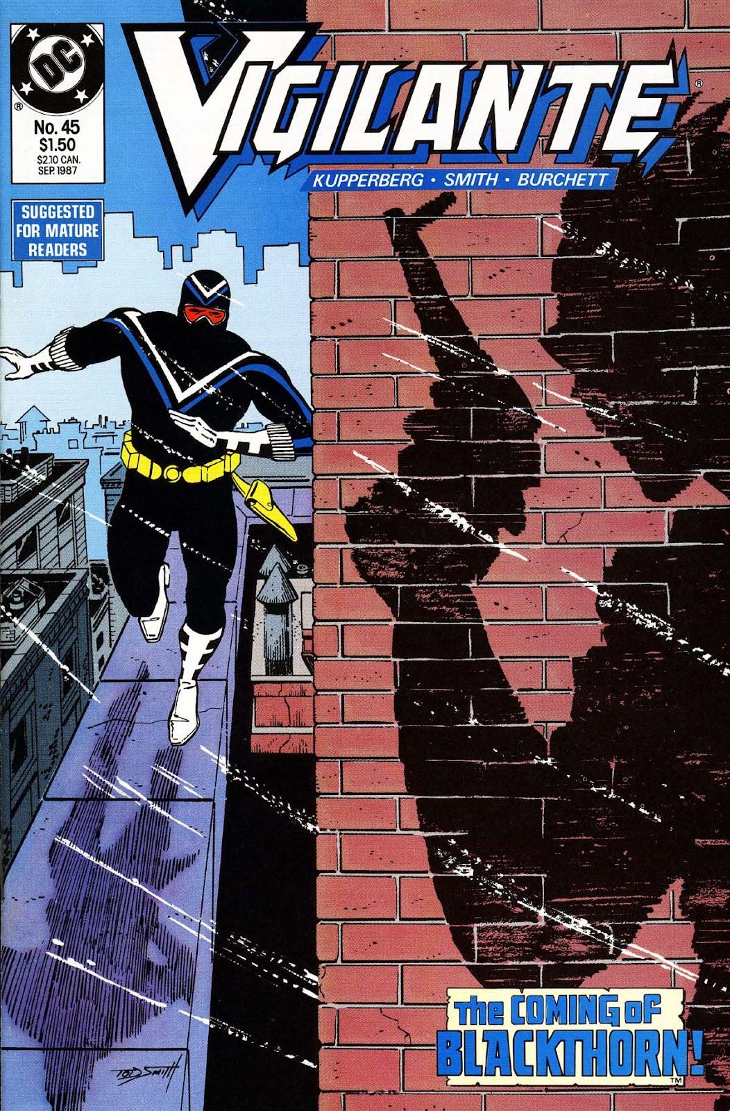 Vigilante (1983) issue 45 - Page 1