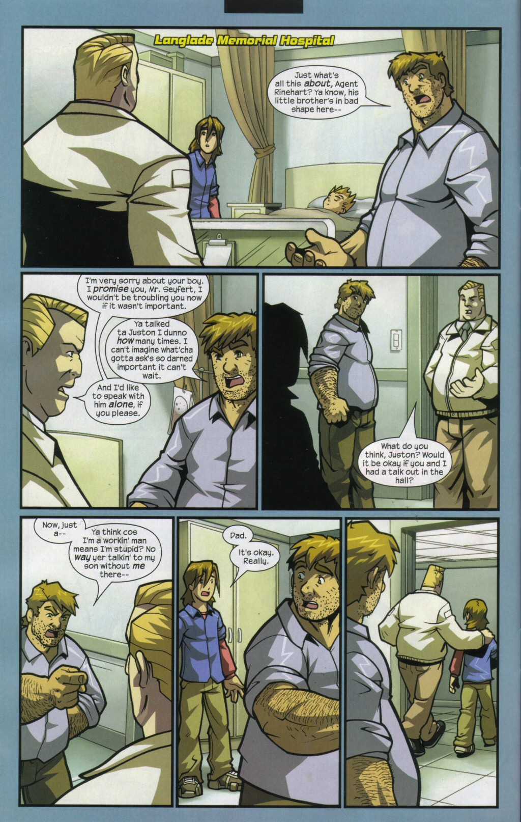 Read online Sentinel comic -  Issue #11 - 5