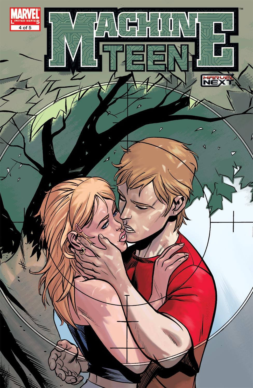 Read online Machine Teen comic -  Issue #4 - 1